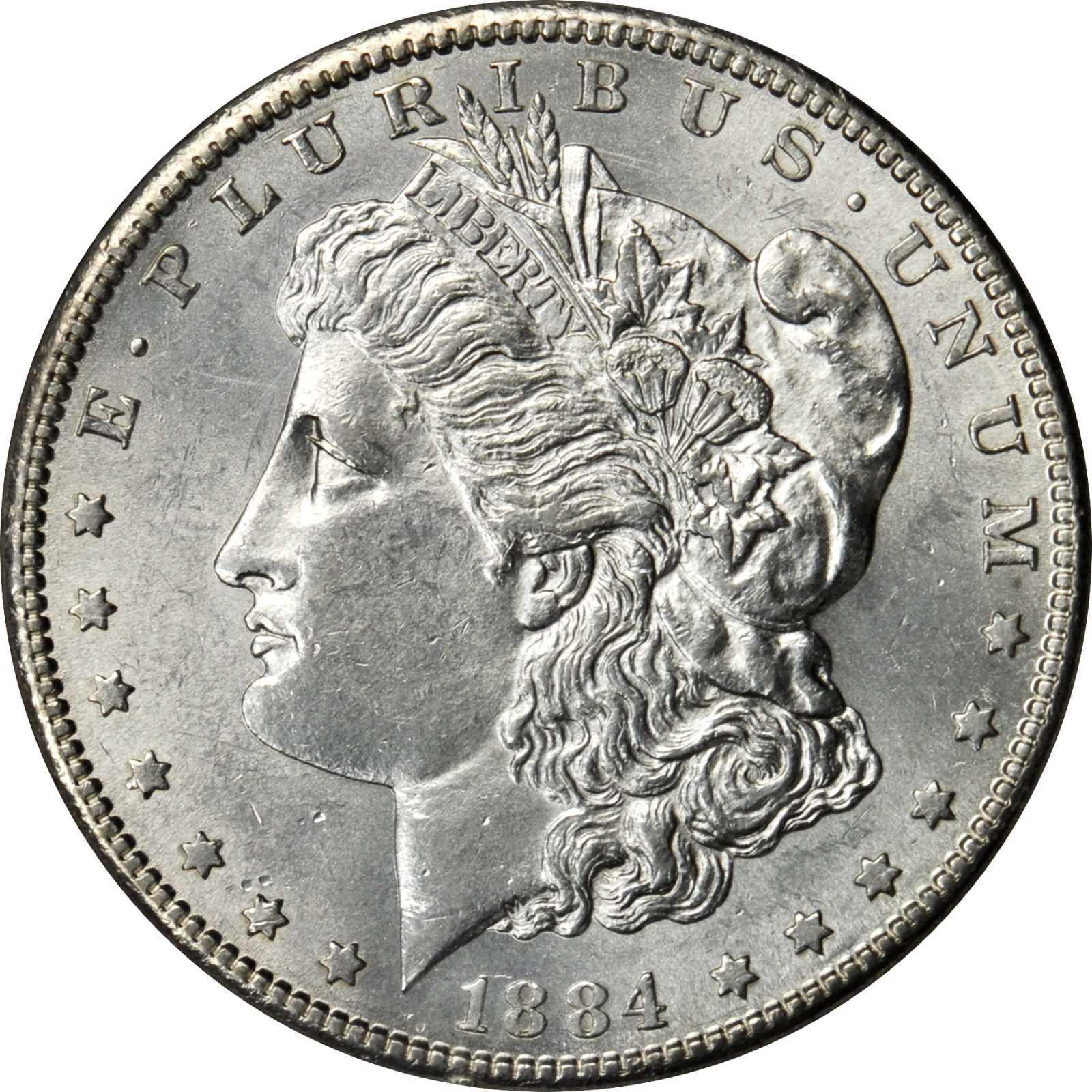 Value Of 1884 S Silver Morgan Dollar