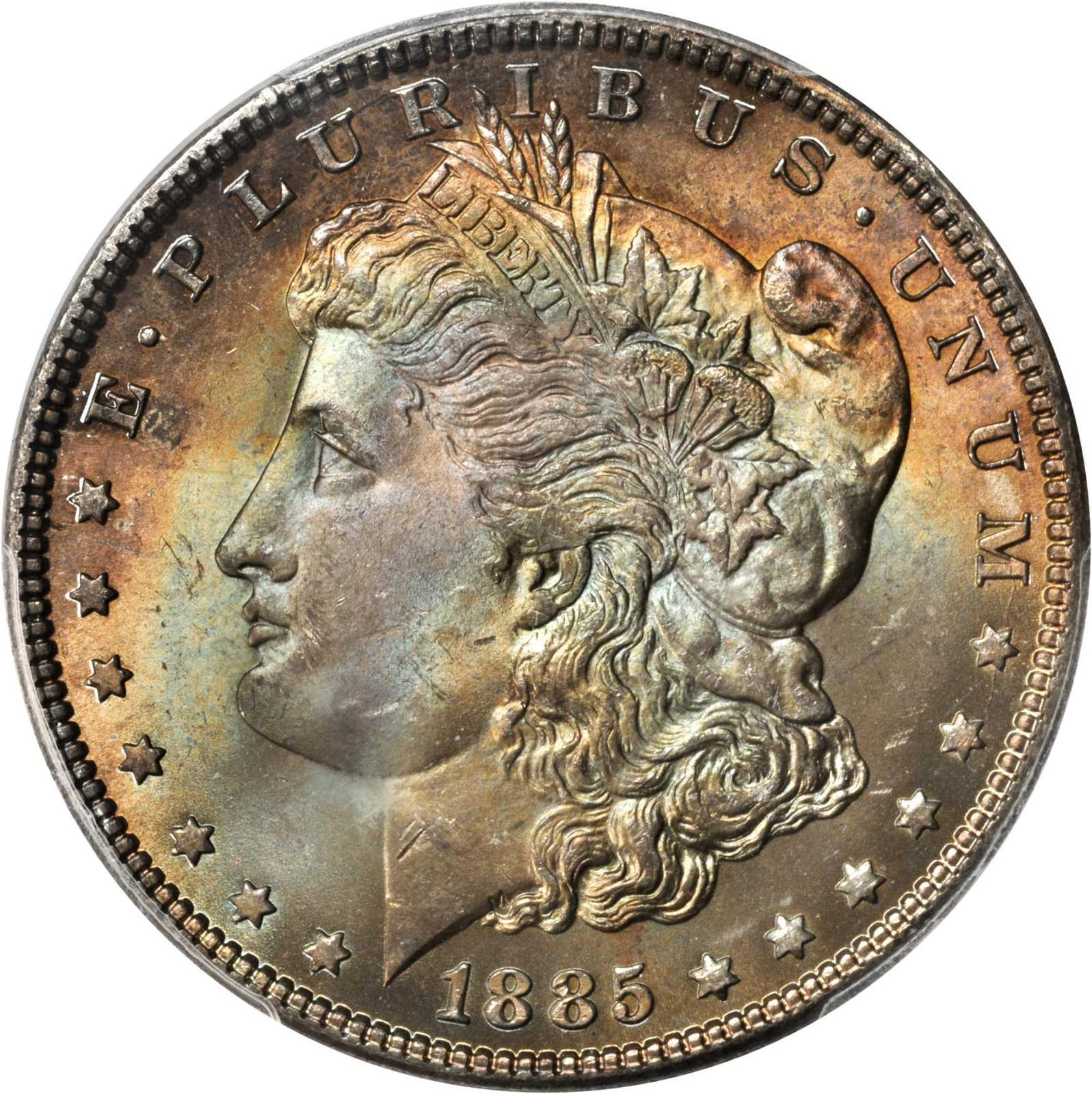 Value Of 1885 Morgan Dollar Rare Silver Dollar Buyers
