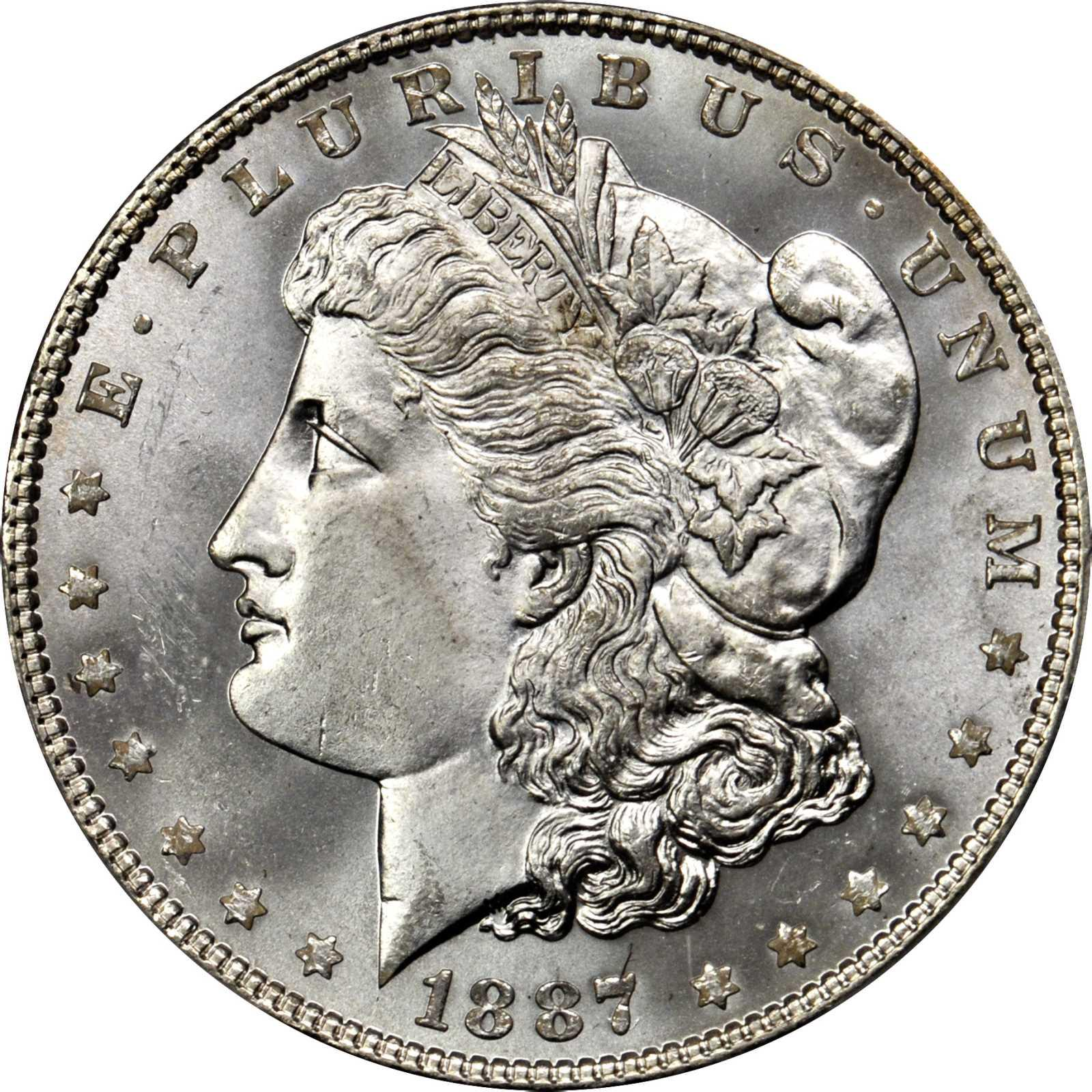 Value Of 1887 6 Morgan Dollar Rare Silver Dollar Buyers