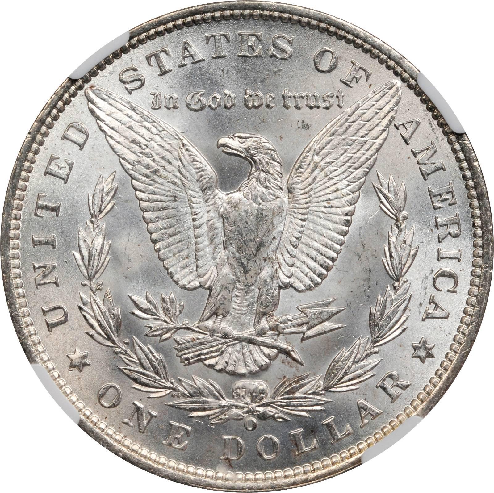 Value Of 1889 O Morgan Dollar Rare Silver Dollar Buyers