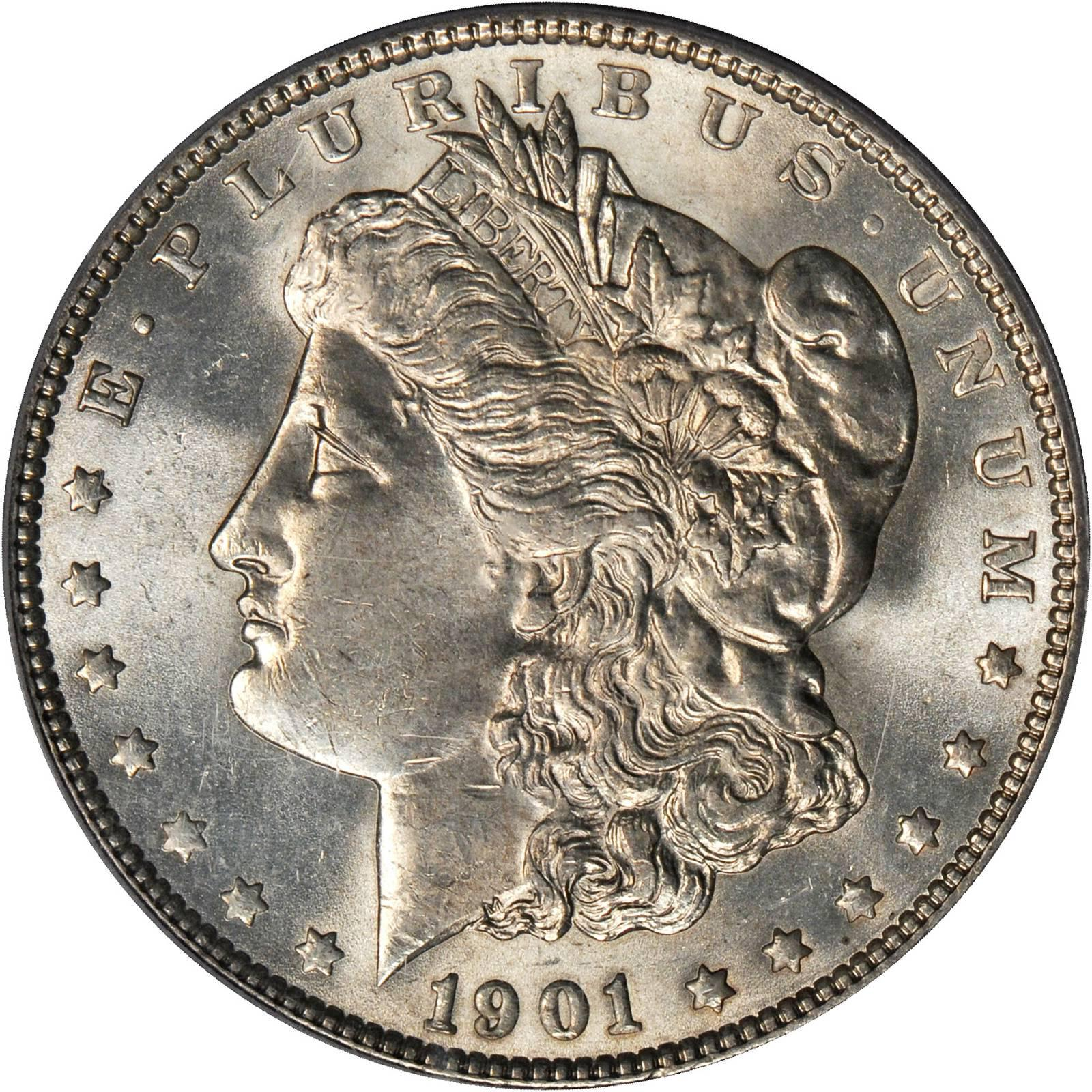 Value Of 1901 Morgan Dollar Rare Silver Dollar Buyers