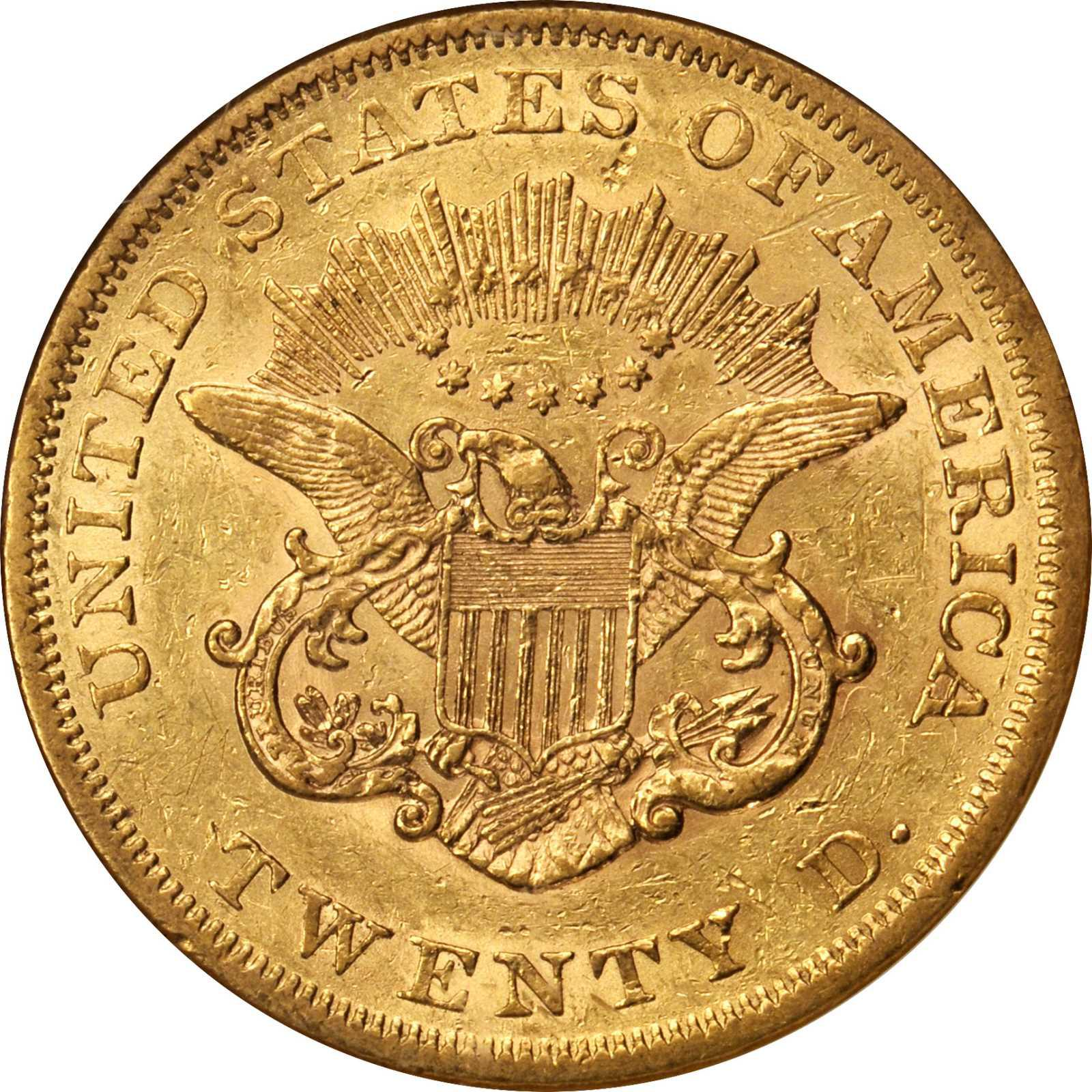 Value Of 1864 20 Liberty Double Eagle Sell Rare Coins