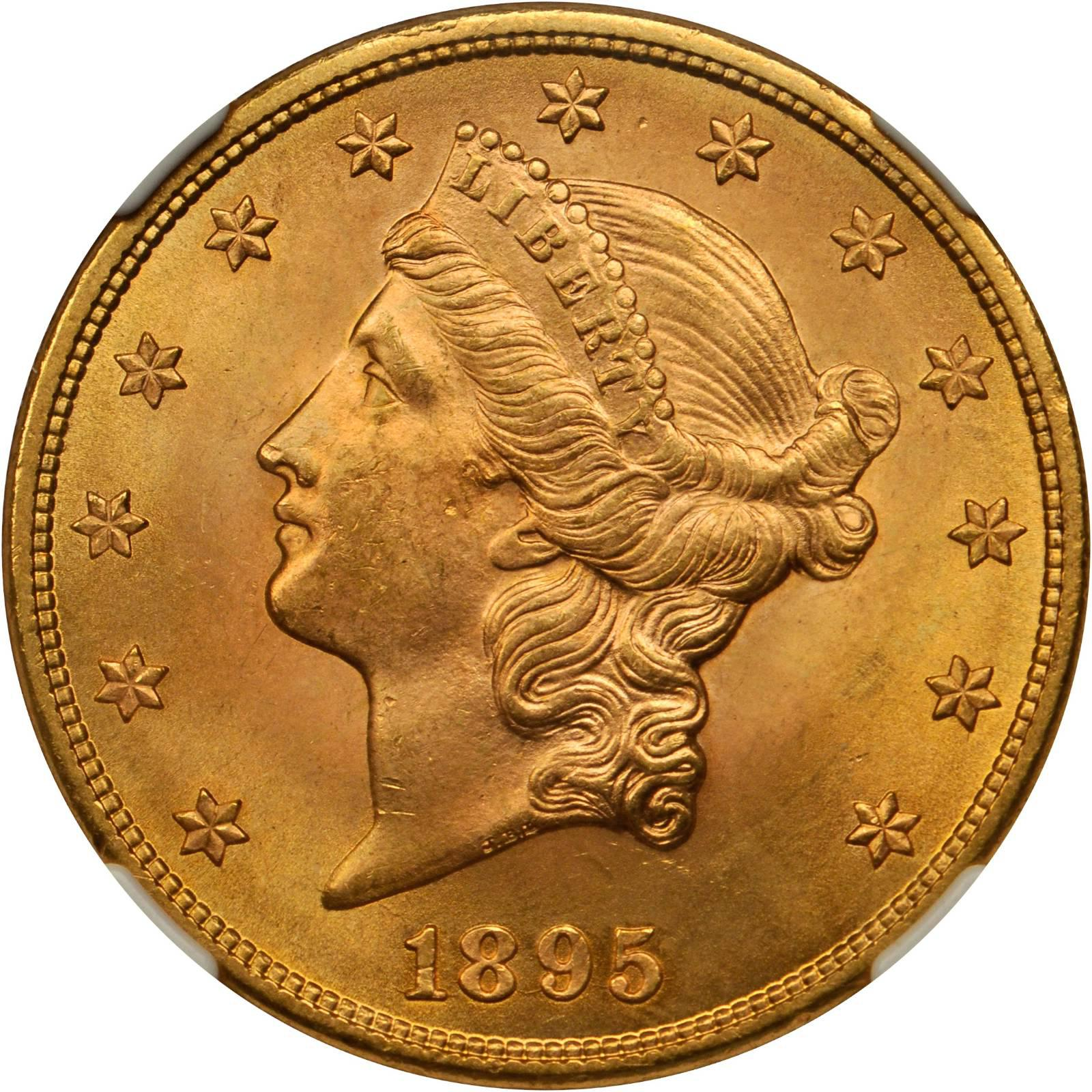 Value Of 1895 20 Liberty Double Eagle Sell Rare Coins
