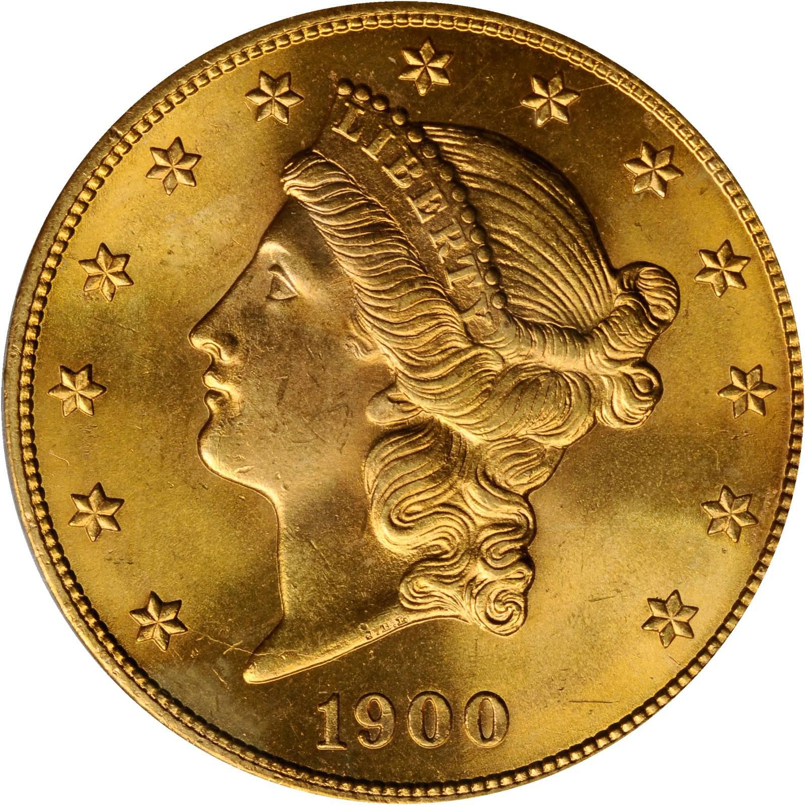 Value Of 1900 S 20 Liberty Double Eagle Sell Rare Coins