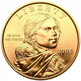 Value Of 2003 D Sacagawea Dollar We Are Rare Coin Buyers