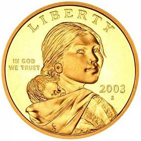 2003 S Sacagawea Dollar PROOF