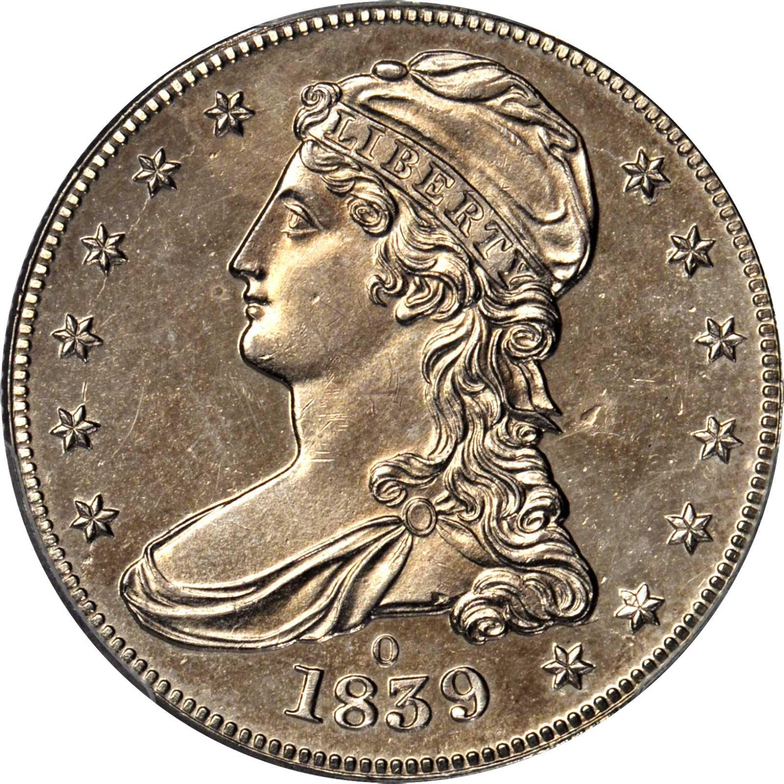 Value Of 1839 O Capped Bust Half Dollars Rare Coin Buyers
