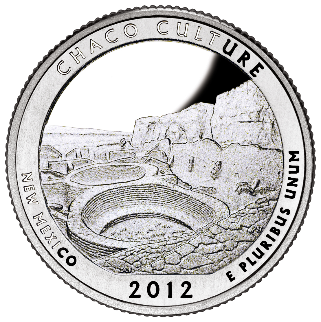 Chaco Culture National Park Quarter Dollar 2012 D
