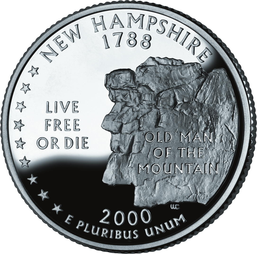 2000 New Hampshire State Quarter | Sell Silver State Quarter