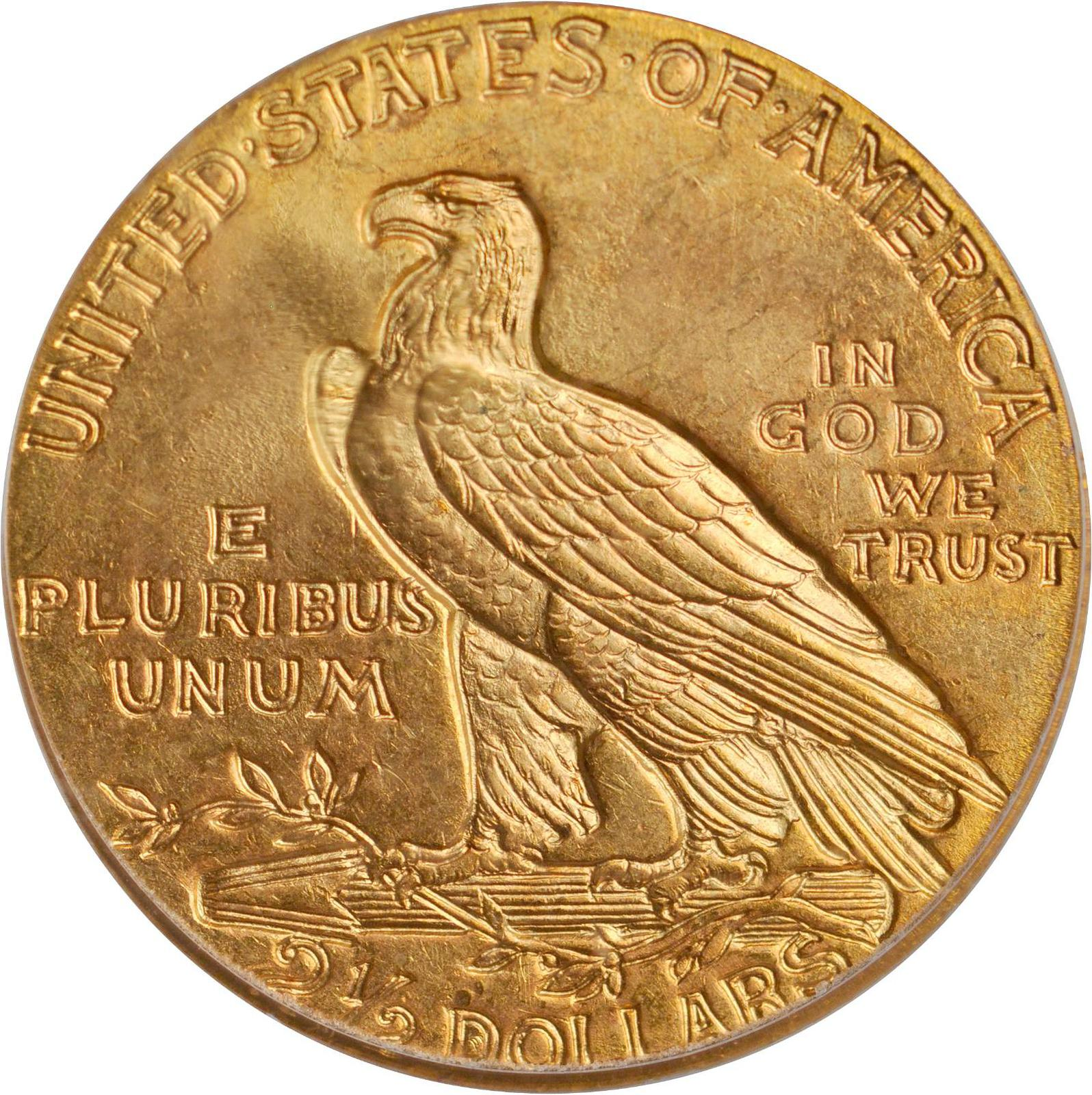Value Of 1909 Indian Head 2 50 Gold Rare Coin Buyers