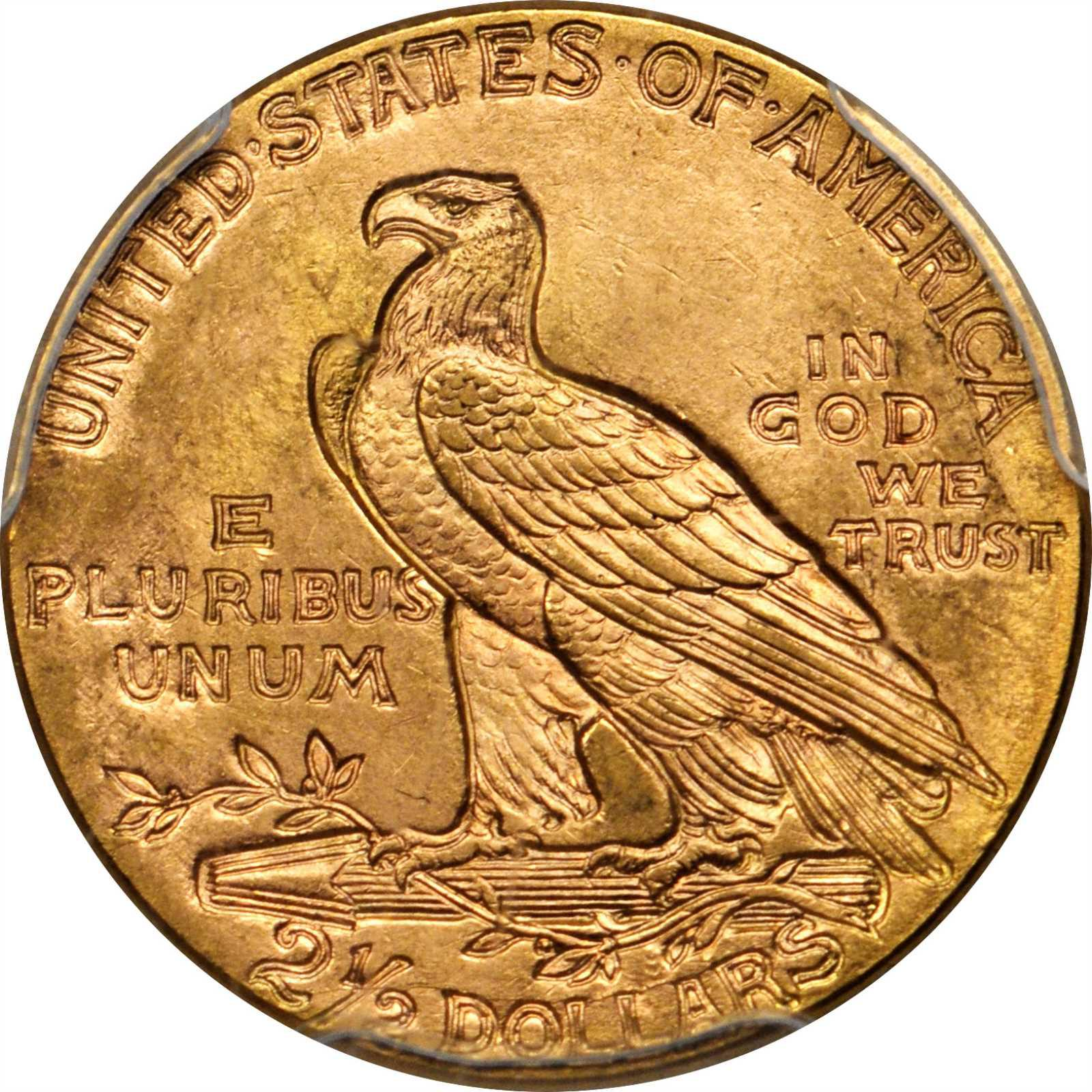 Value Of 1915 Indian Head 2 50 Gold Rare Coin Buyers