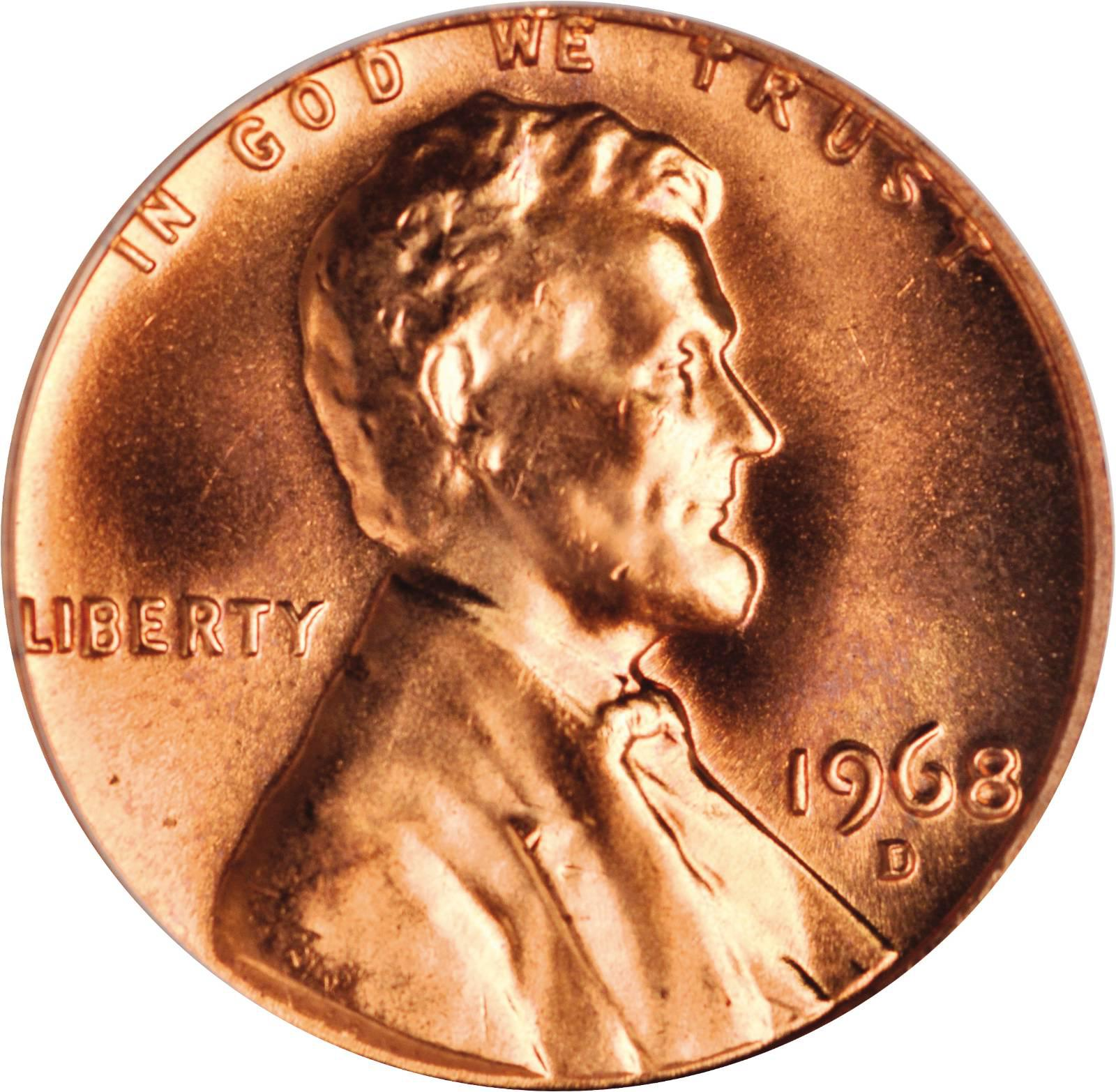 Value Of 1968 D Lincoln Memorial Cent