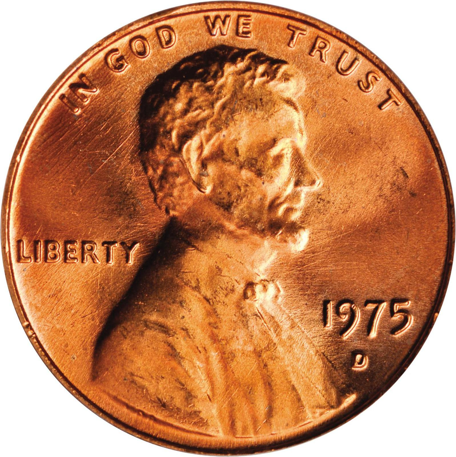 Value of 1975-D Lincoln Cents   We Appraise Modern Coins