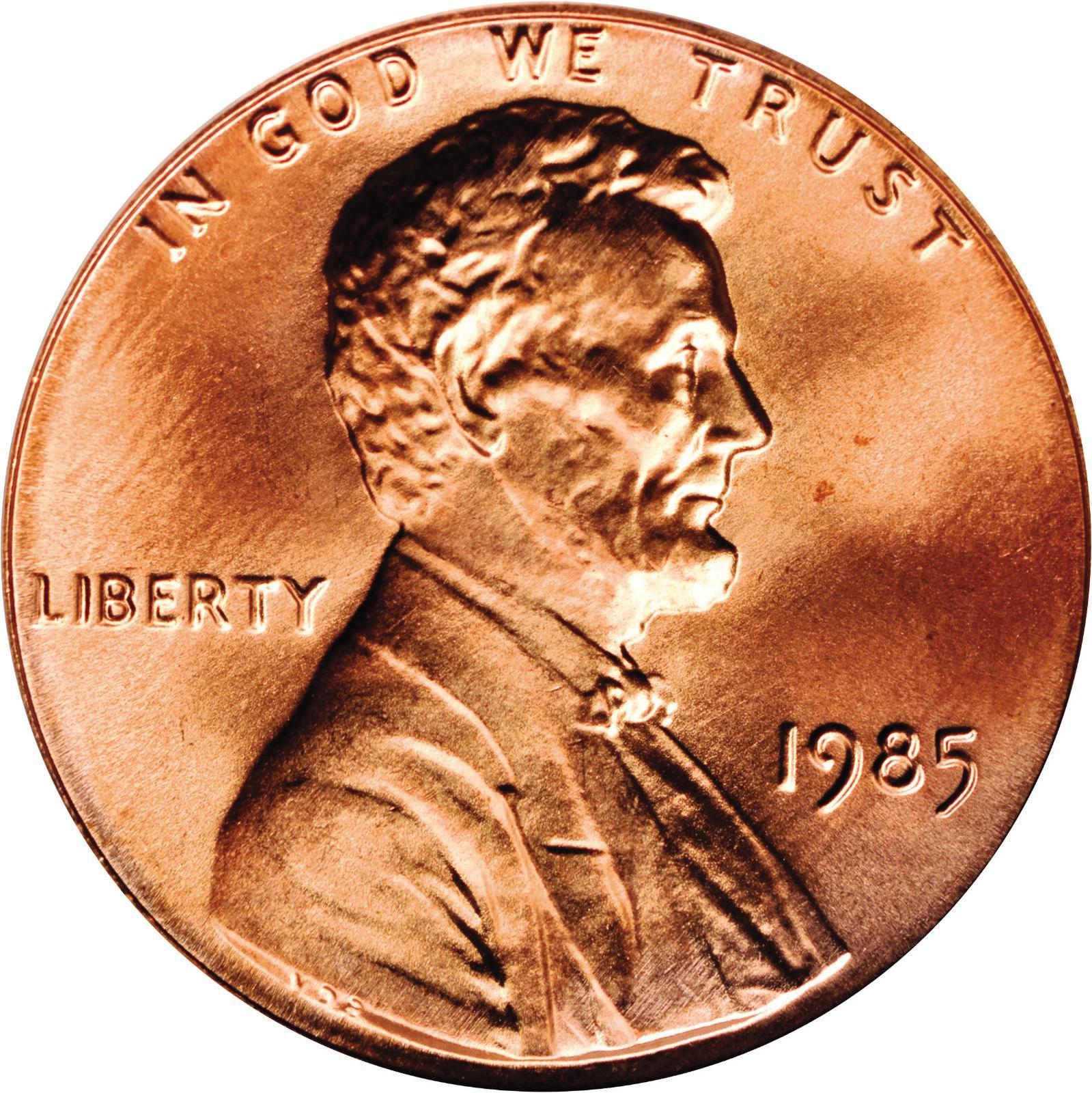 Value of 1985 Lincoln Cents | We Appraise Modern Coins