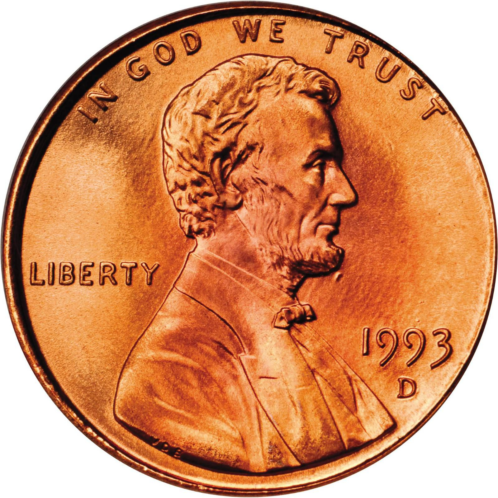 Value of 1993-D Lincoln Cents | We Appraise Modern Coins