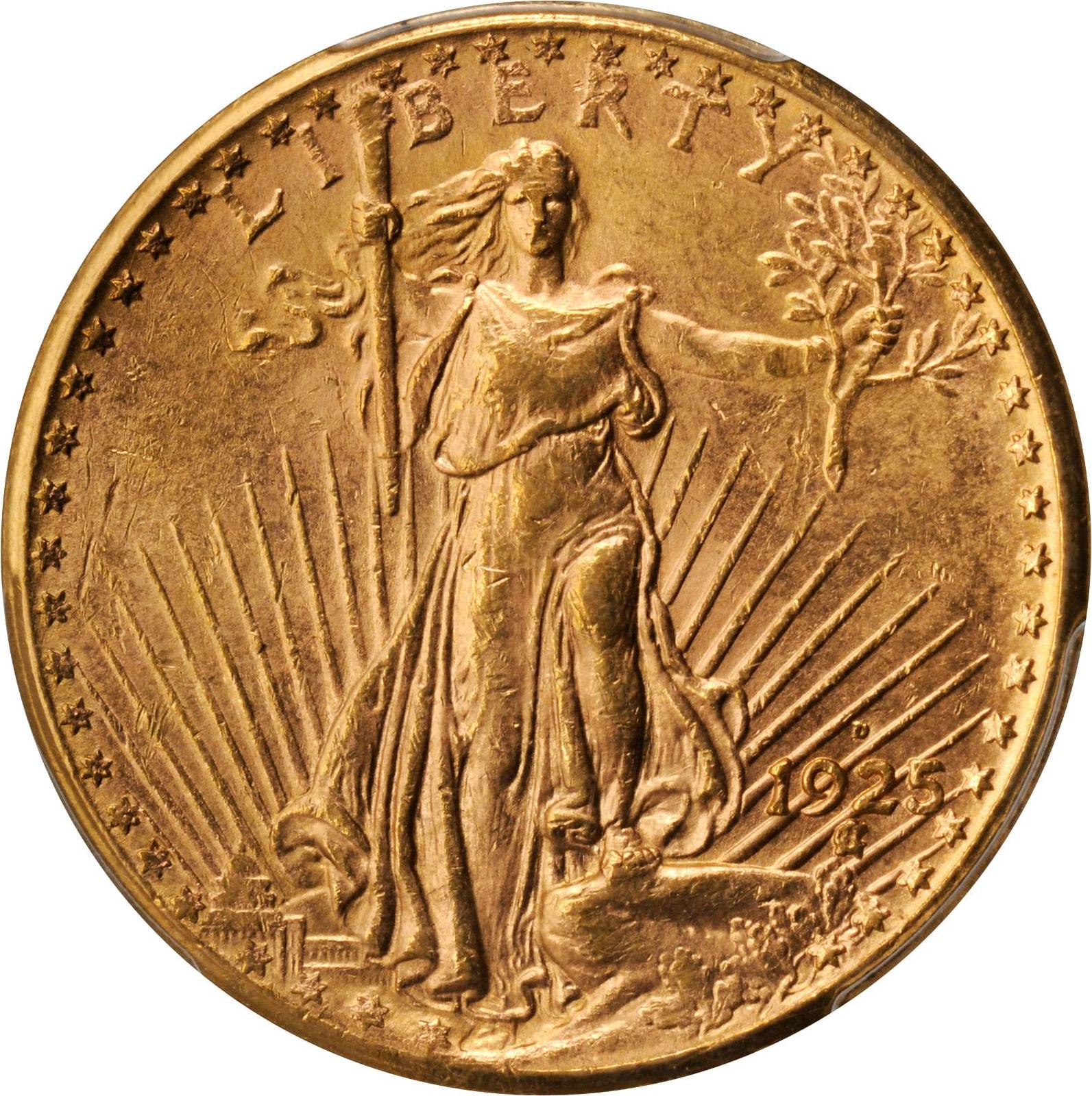 1925 20 dollar gold coin