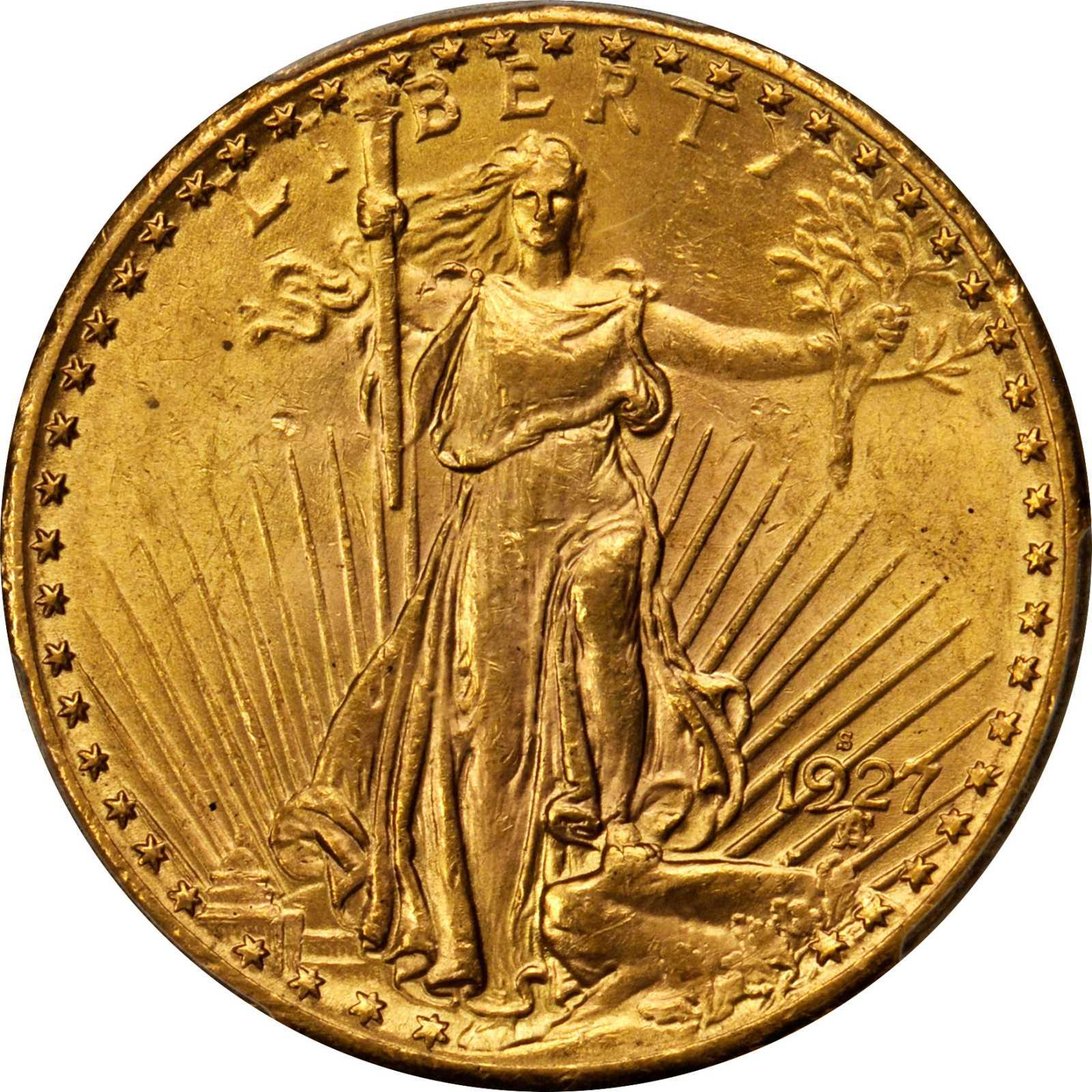 1927 S St Gaudens 20 Gold Sell Rare Gold Coins
