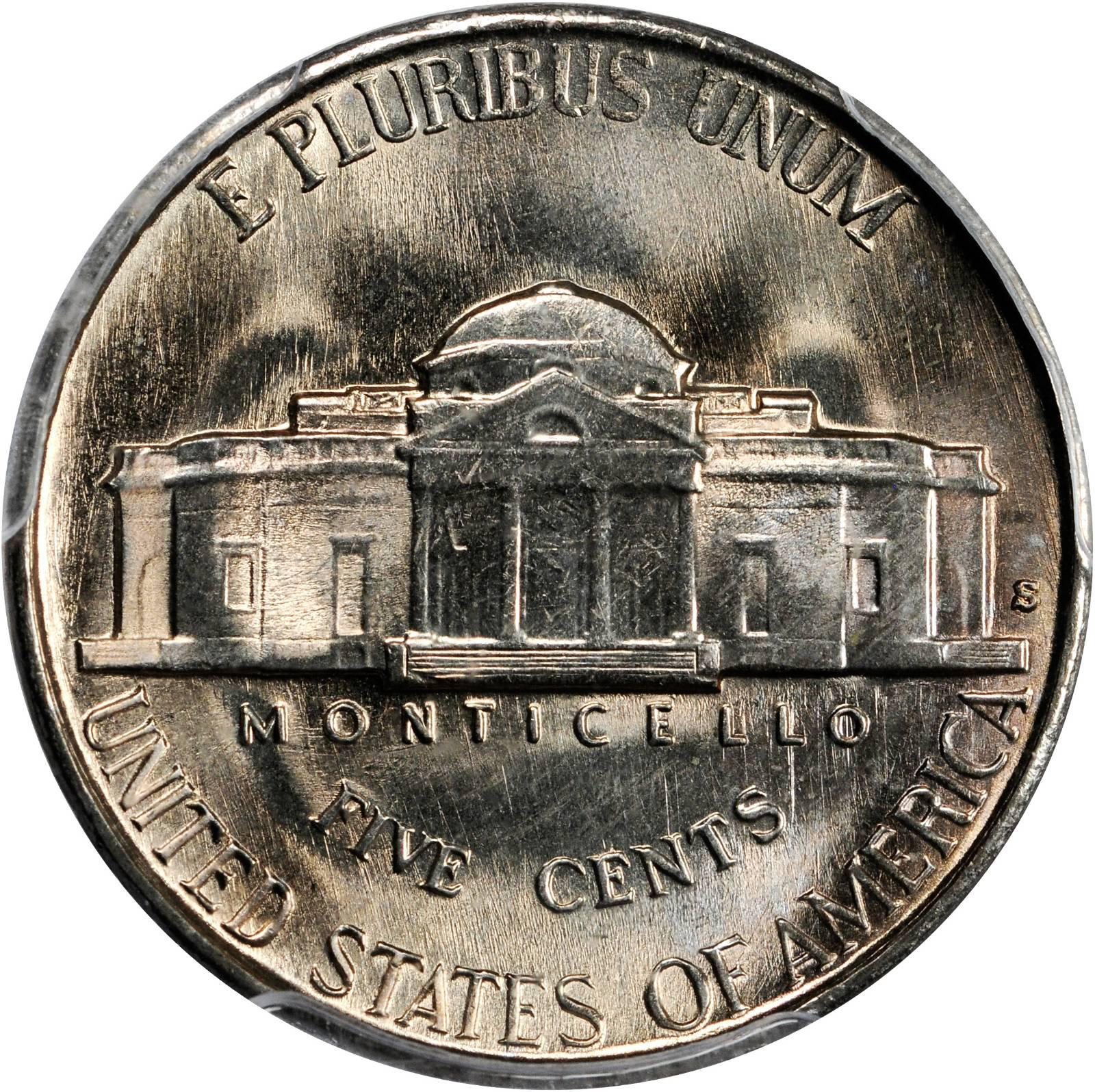 1941-S BU Jefferson Nickel