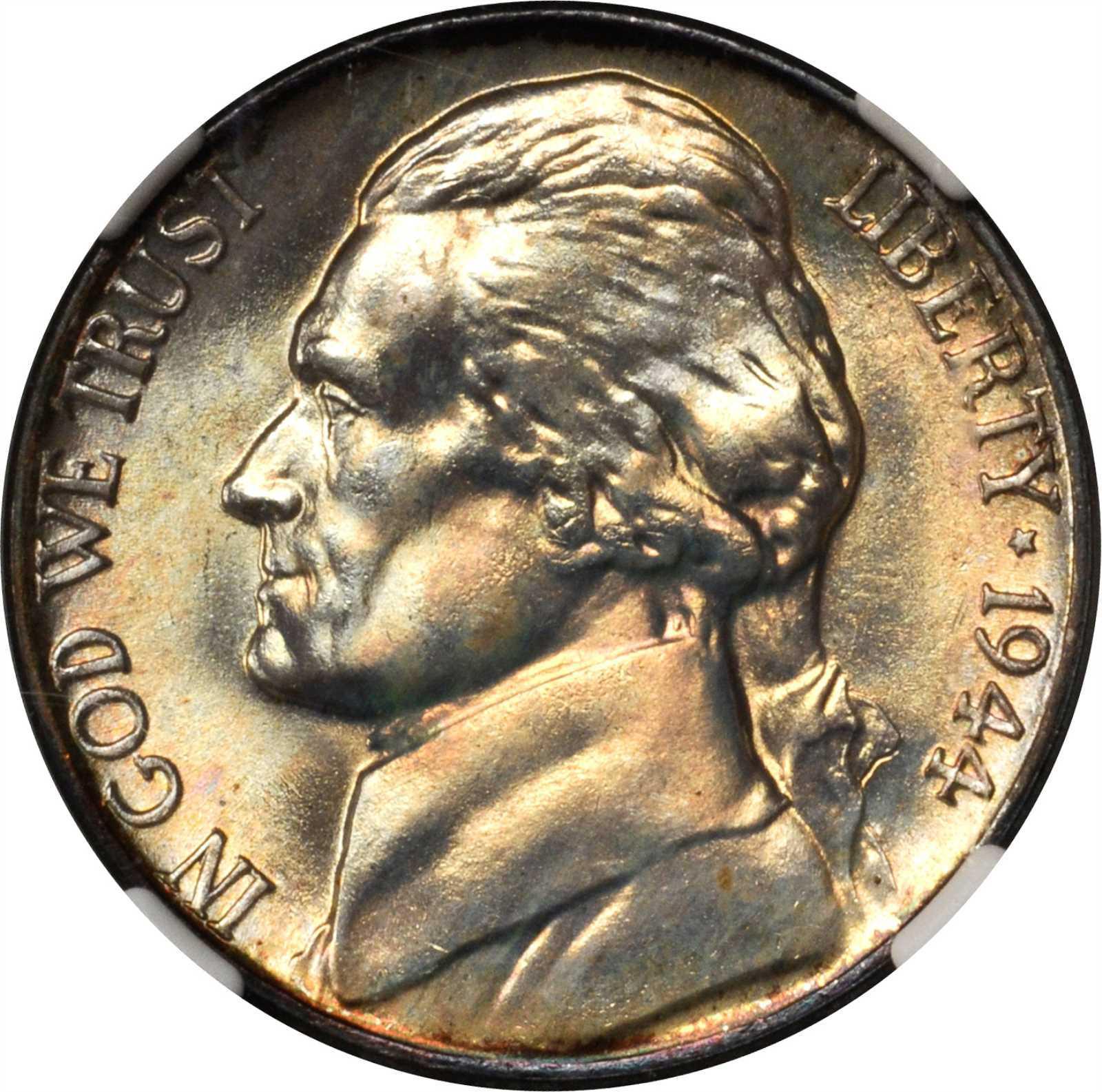 Value Of 1944 P Jefferson War Nickel