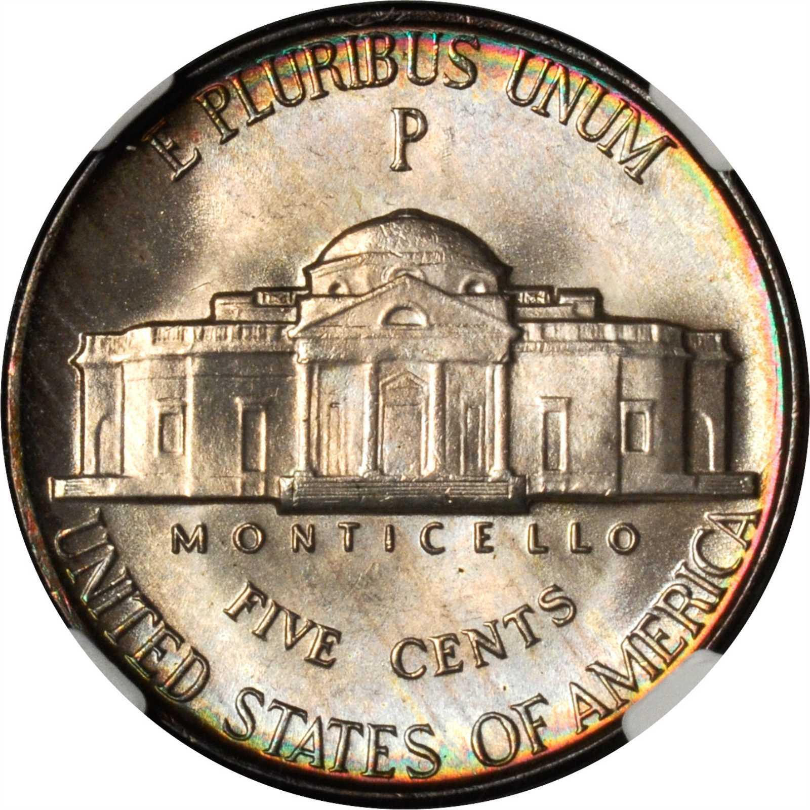 1944 P Jefferson War Nickel