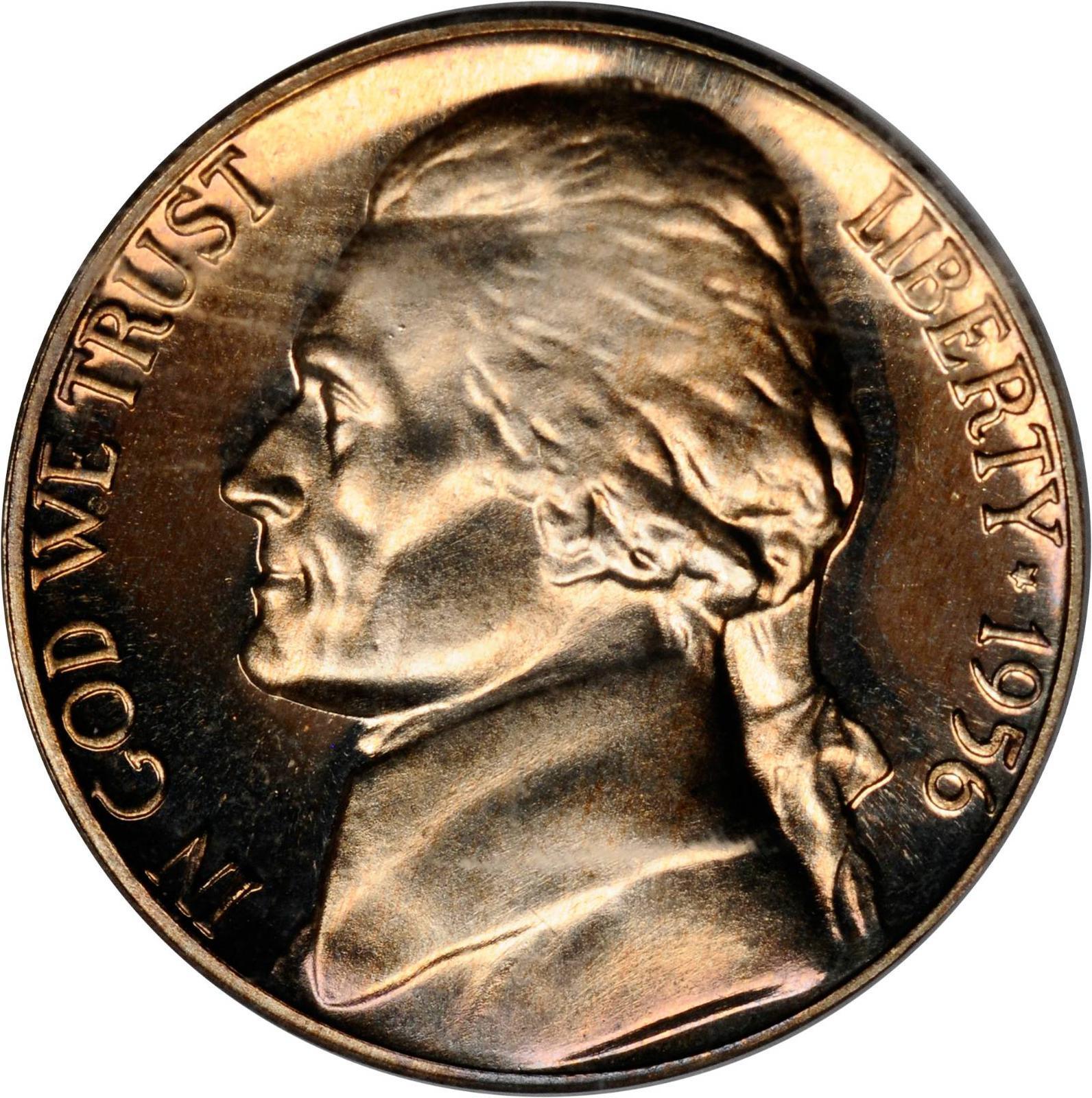 Value Of 1956 Jefferson Nickel