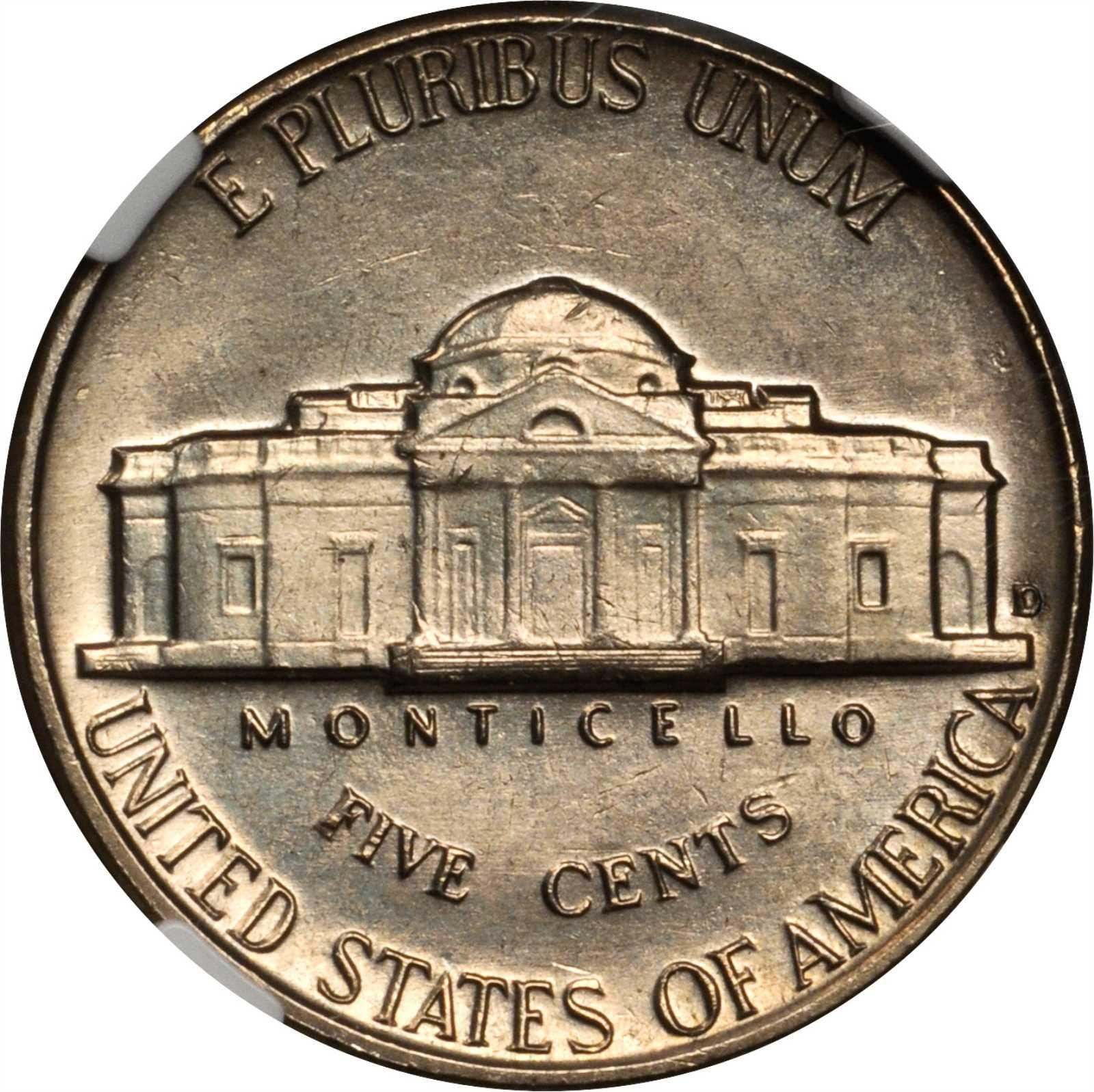 1963-D Jefferson Nickel | Sell & Auction Modern Coins