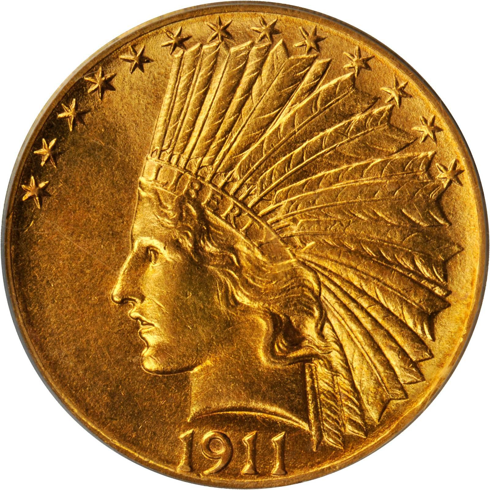 Value Of 1911 D Indian Head 10 Gold Sell Your Rare Coins