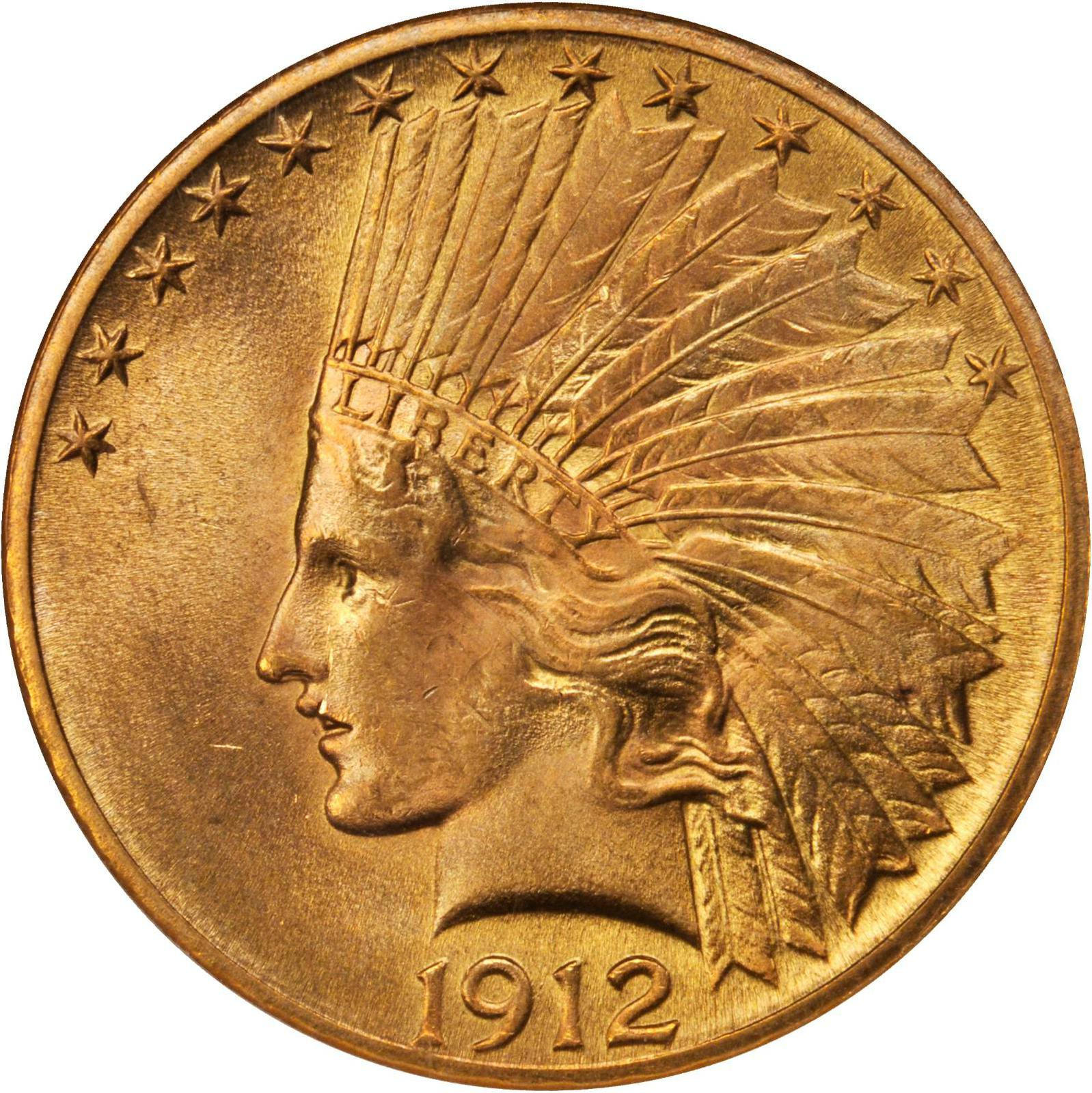 Value Of 1912 Indian Head 10 Gold Sell Your Rare Coins