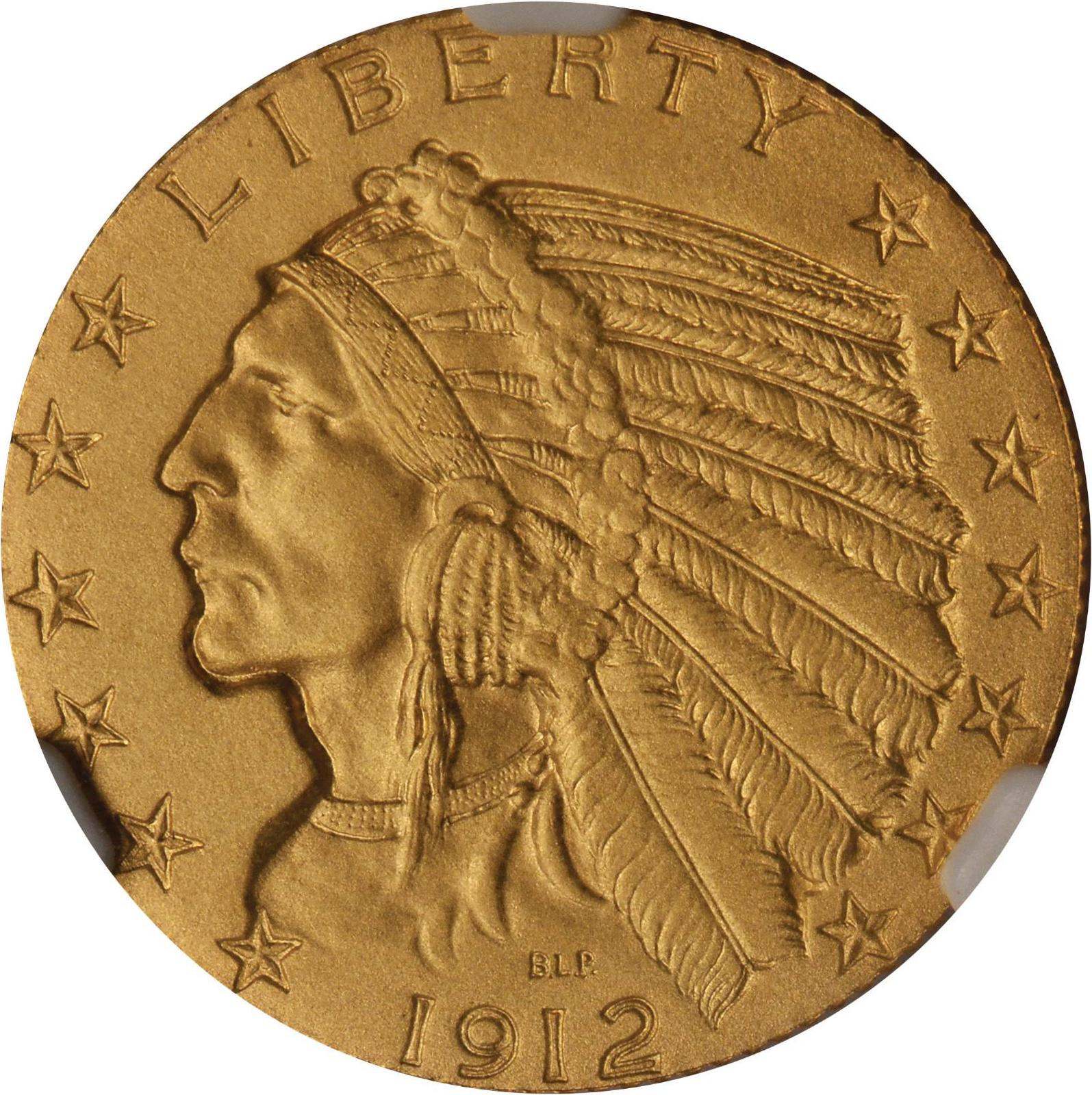 Value Of A 1912 Indian 5 Gold We Are Rare Coin Buyers