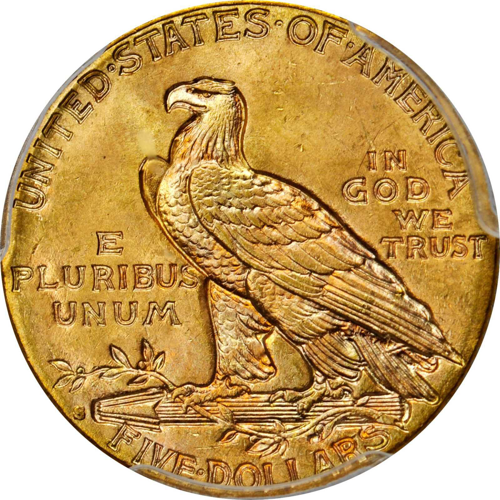 Value Of A 1916 S Indian 5 Gold We Are Rare Coin Buyers
