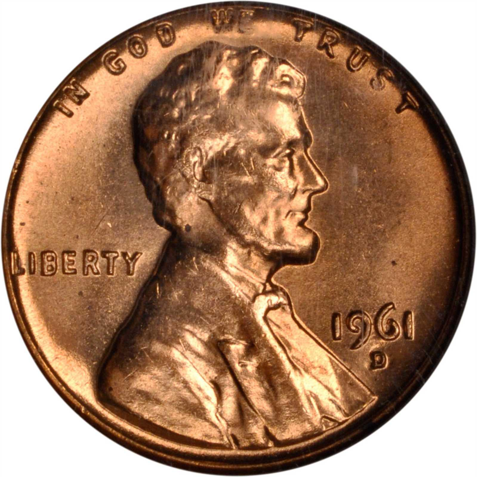 Value of 1961-D Lincoln Cents | We Appraise Modern Coins