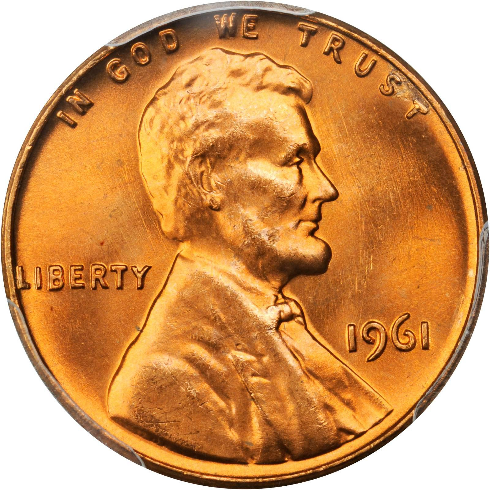 Value Of 1961 Lincoln Cents We Appraise Modern Coins