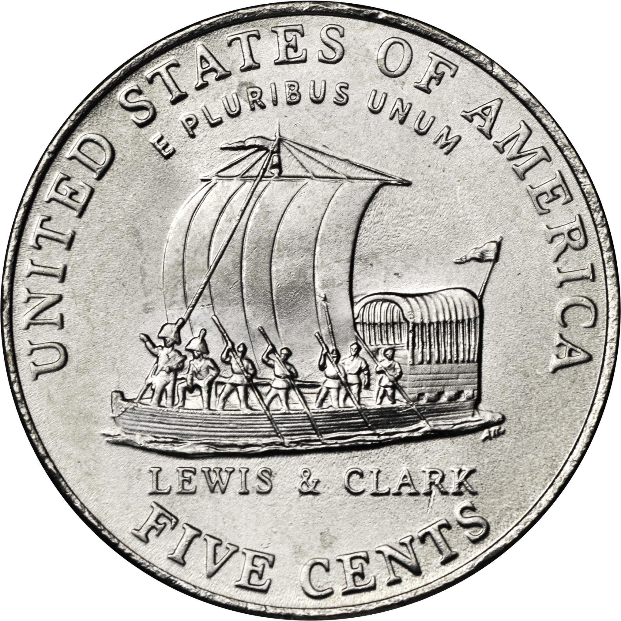 2004 Keel Boat Westward Journey Nickel | Modern Coin Buyer!