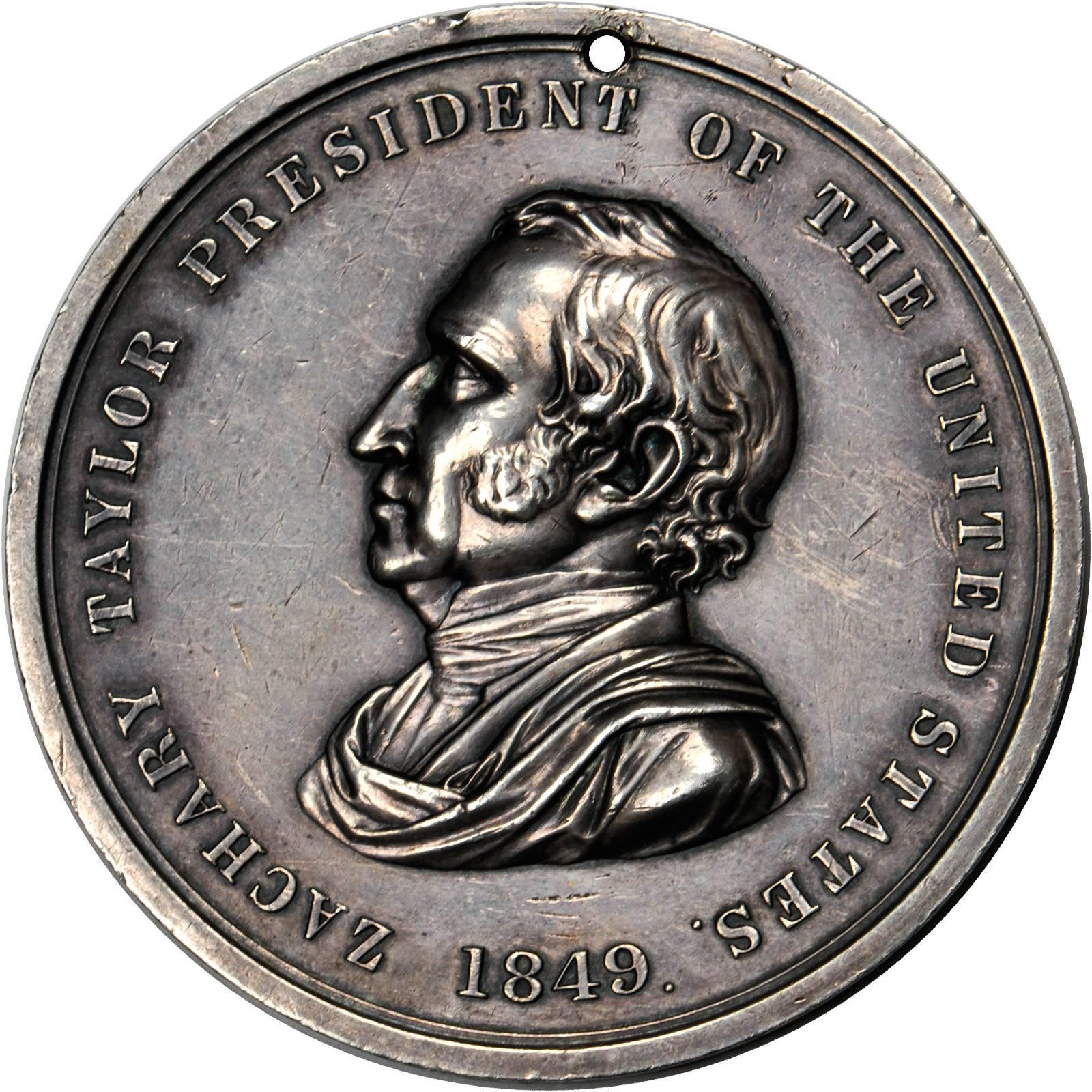 zachary taylor coin worth