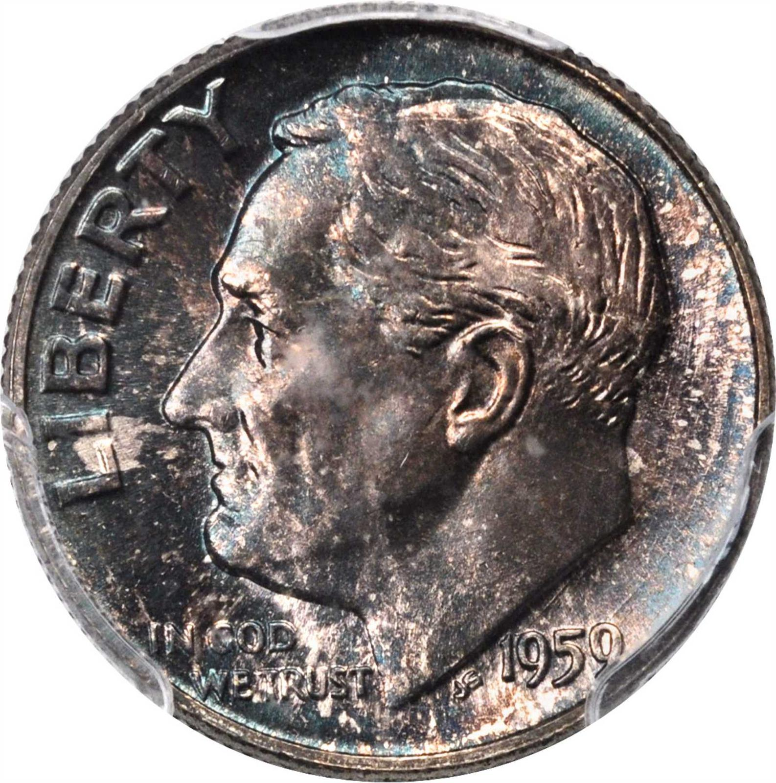 Value of 1959 Dime   Sell and Auction, Rare Coin Buyers