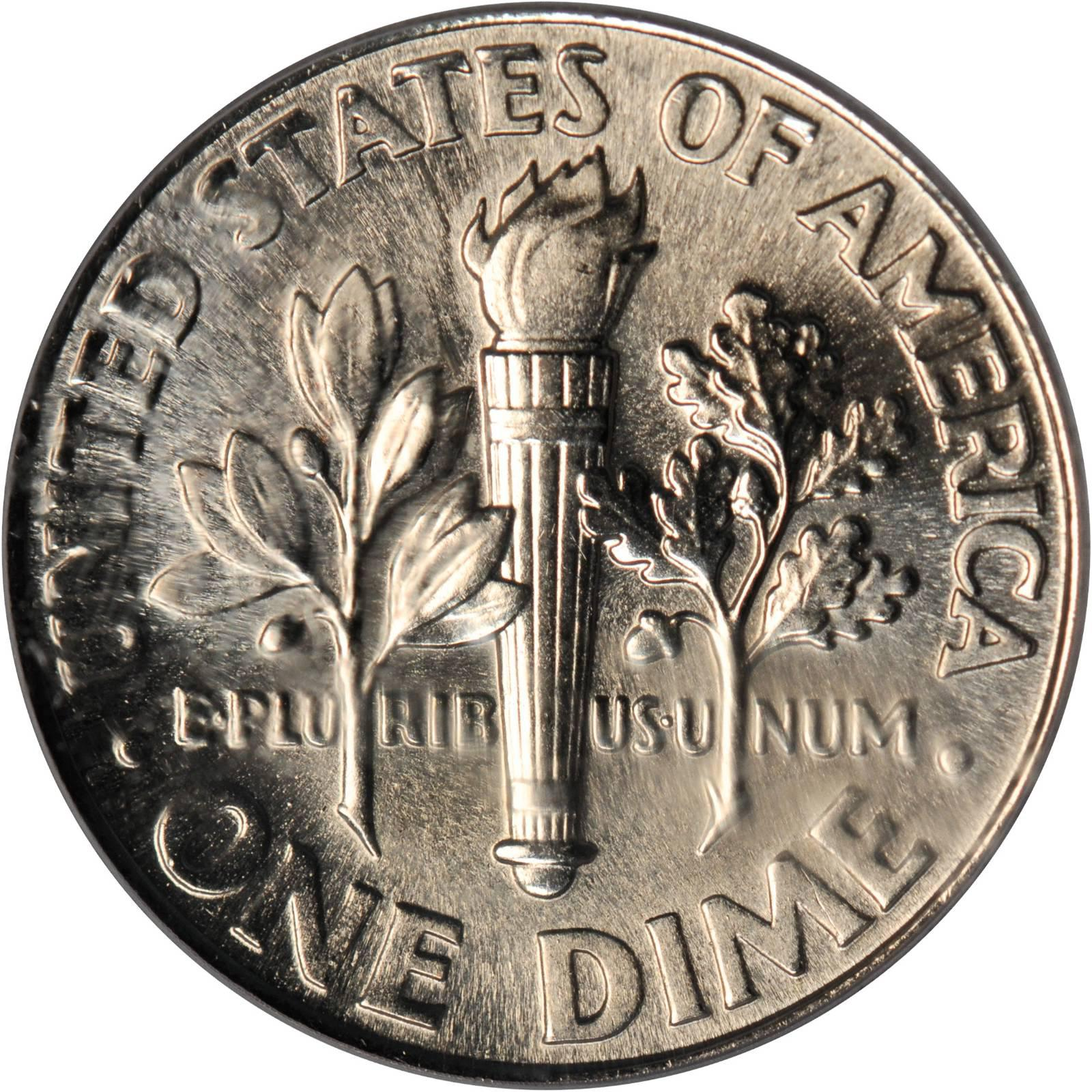 who is on the dime coin