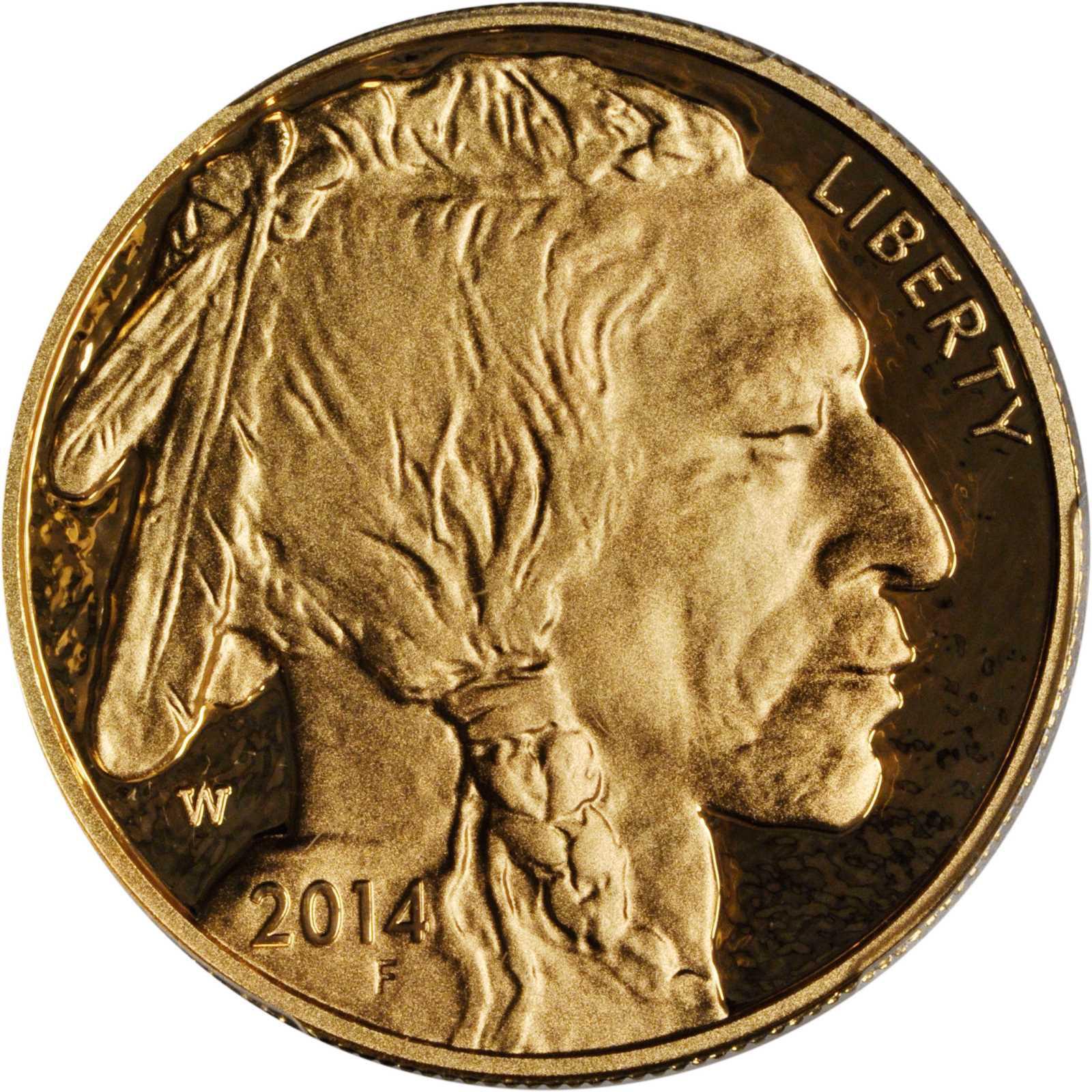 2014 buffalo coin