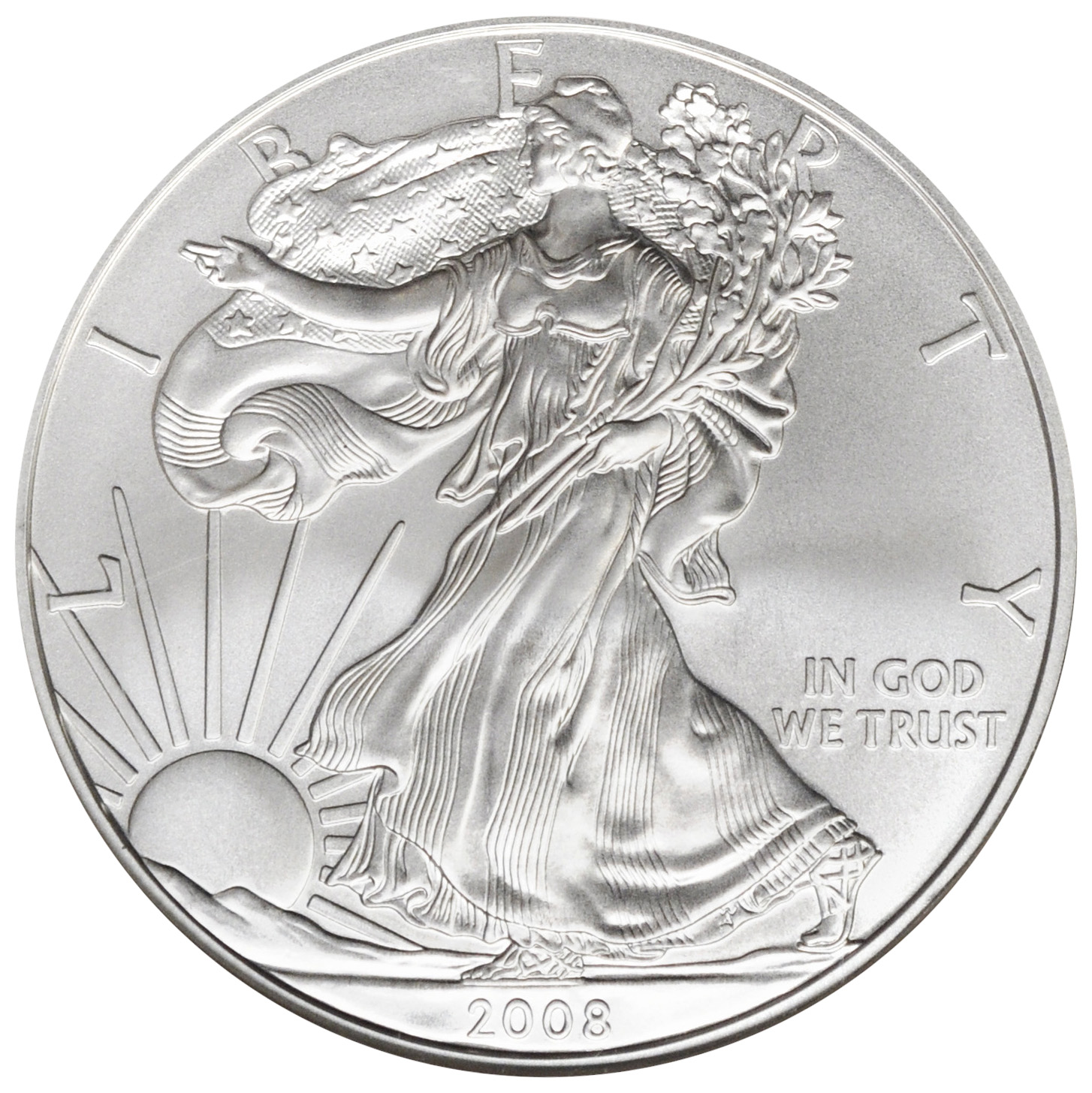 Value Of 2008 1 Silver Coin American Silver Eagle Coin