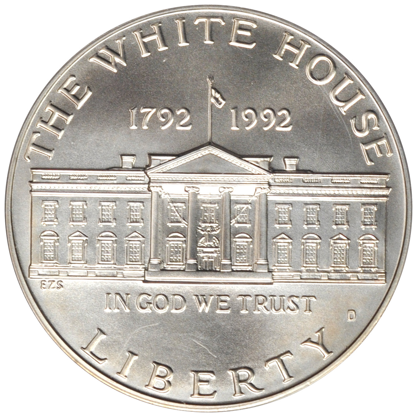 Value Of 1992 1 White House Silver Coin Sell Silver Coins