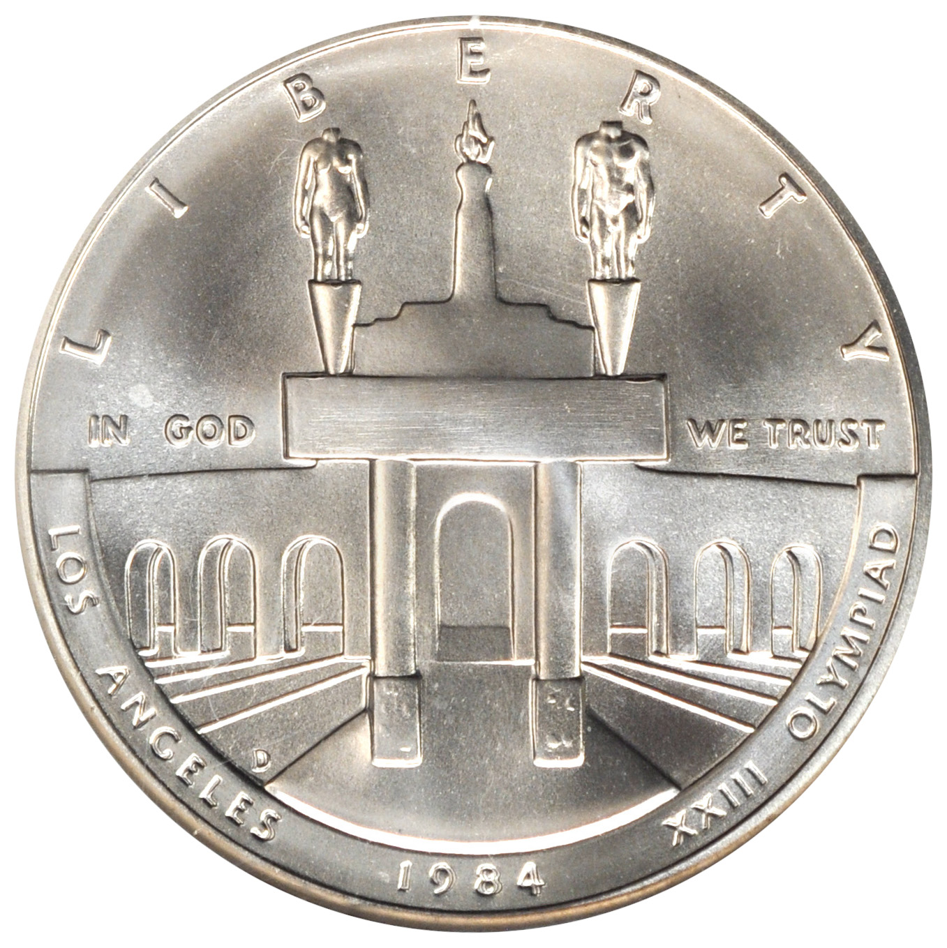 Value Of 1984 1 Olympic Silver Coin Sell Silver Coins