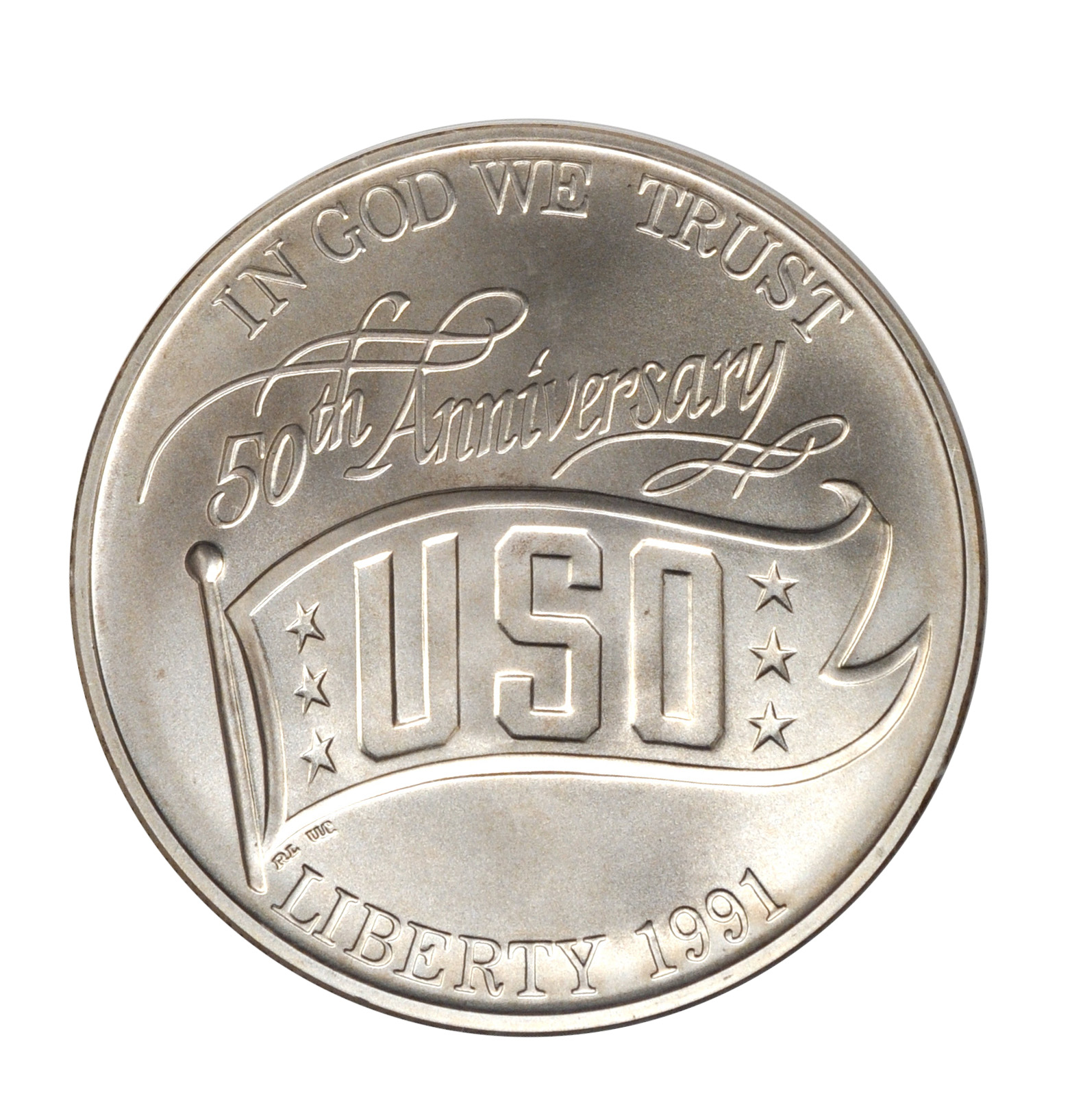 Value Of 1991 1 Uso Silver Coin Sell Commemorative Coins