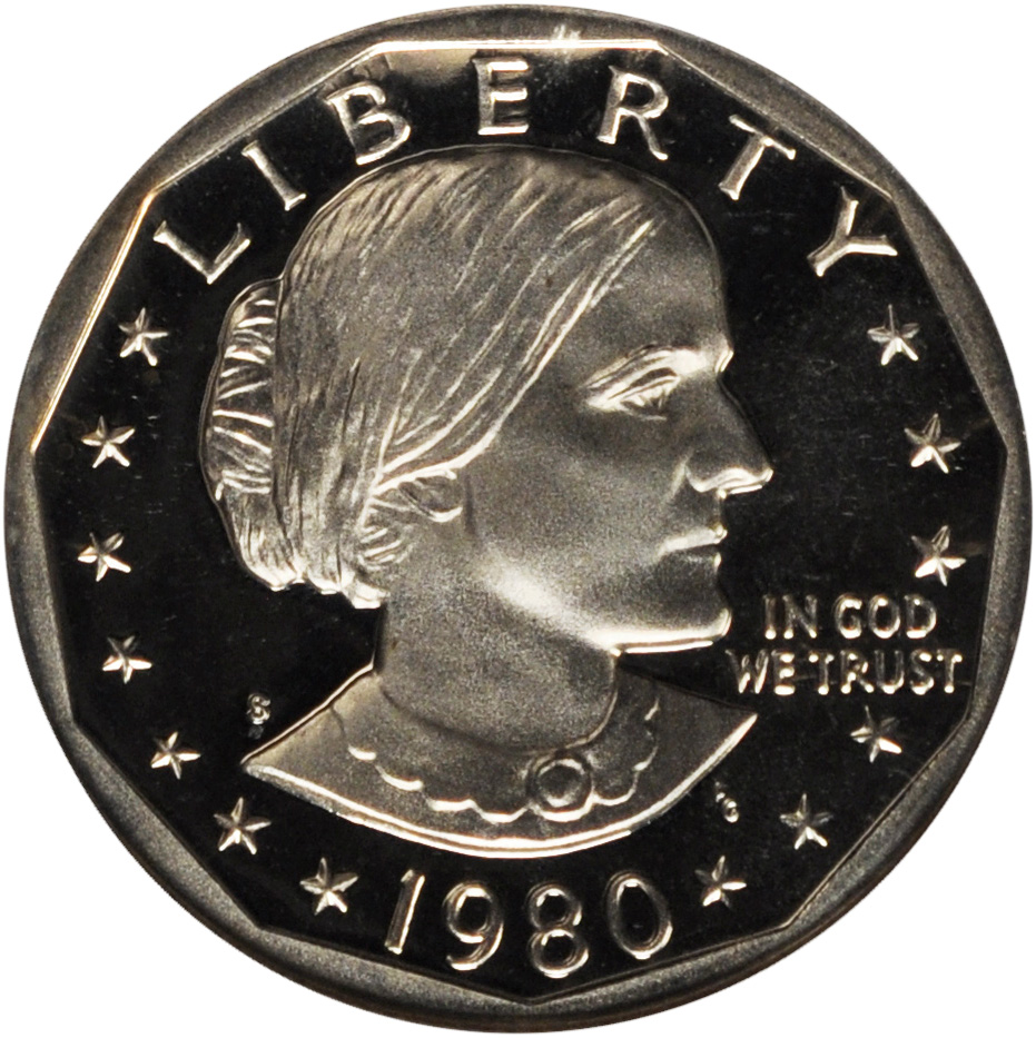 Value Of 1980 S Susan B Anthony Dollar Sell Modern Coins
