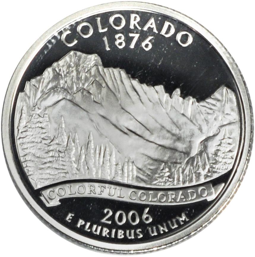 2006 Colorado State Quarter Sell Silver State Quarters