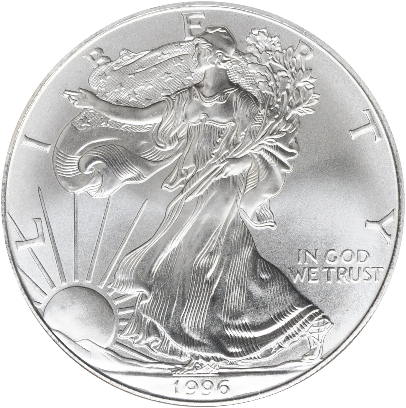 Value Of 1996 $1 Silver Coin