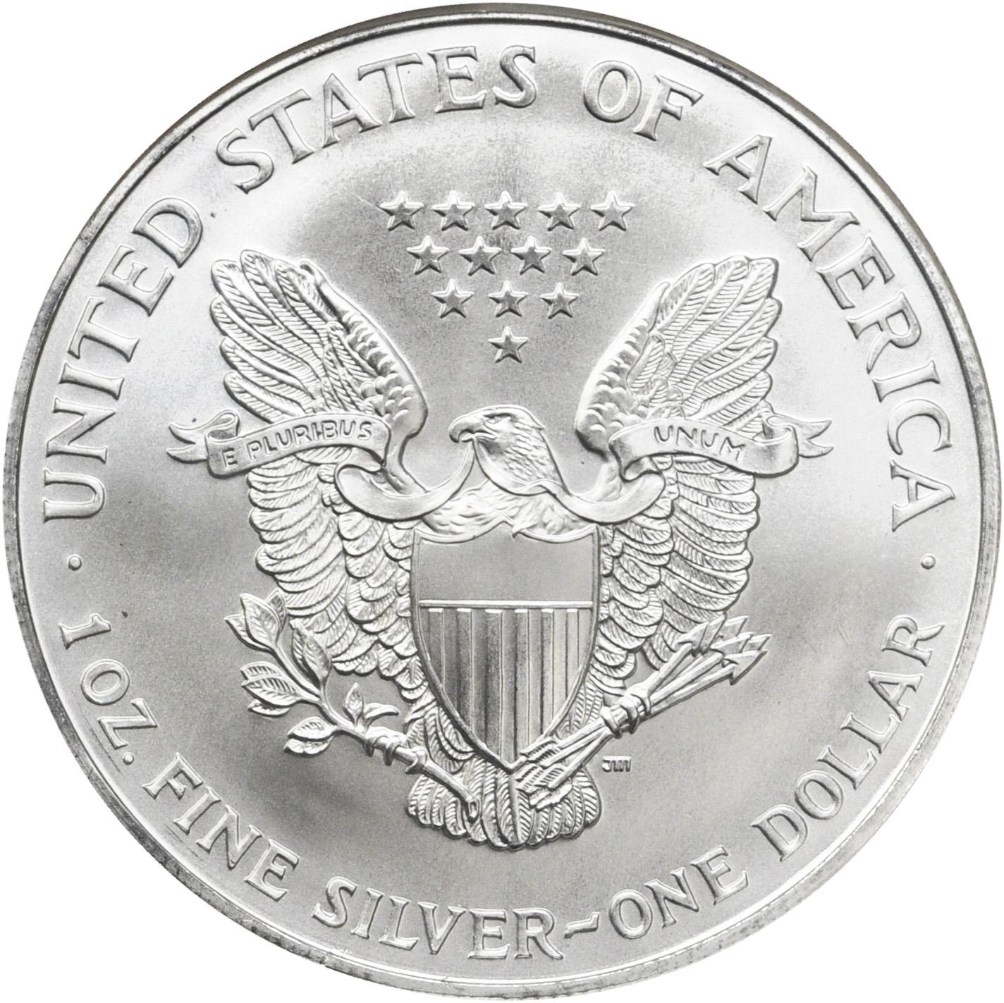 Value Of 1996 1 Silver Coin American Silver Eagle Coin