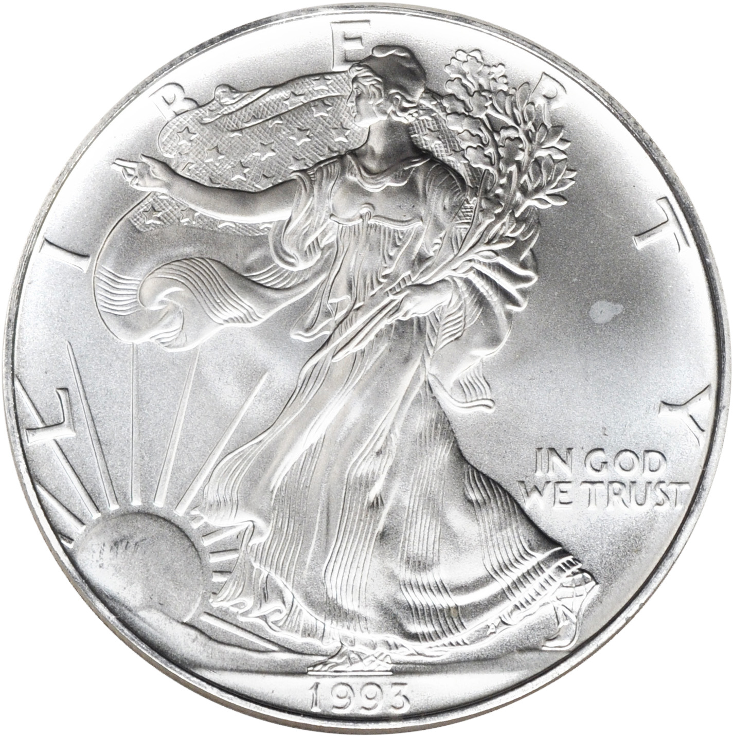 Value Of 1993 1 Silver Coin American Silver Eagle Coin