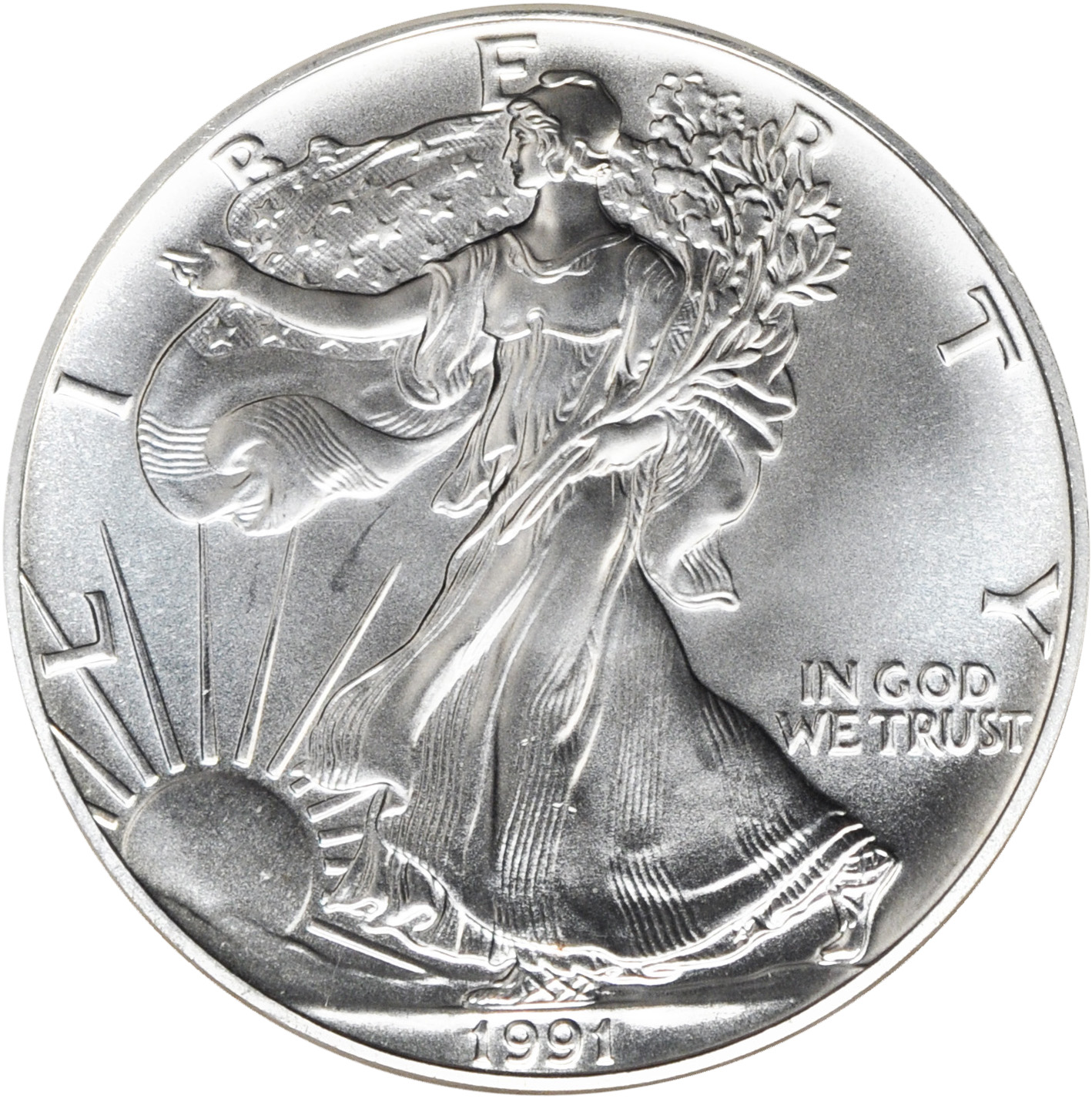 Value Of 1991 $1 Silver Coin