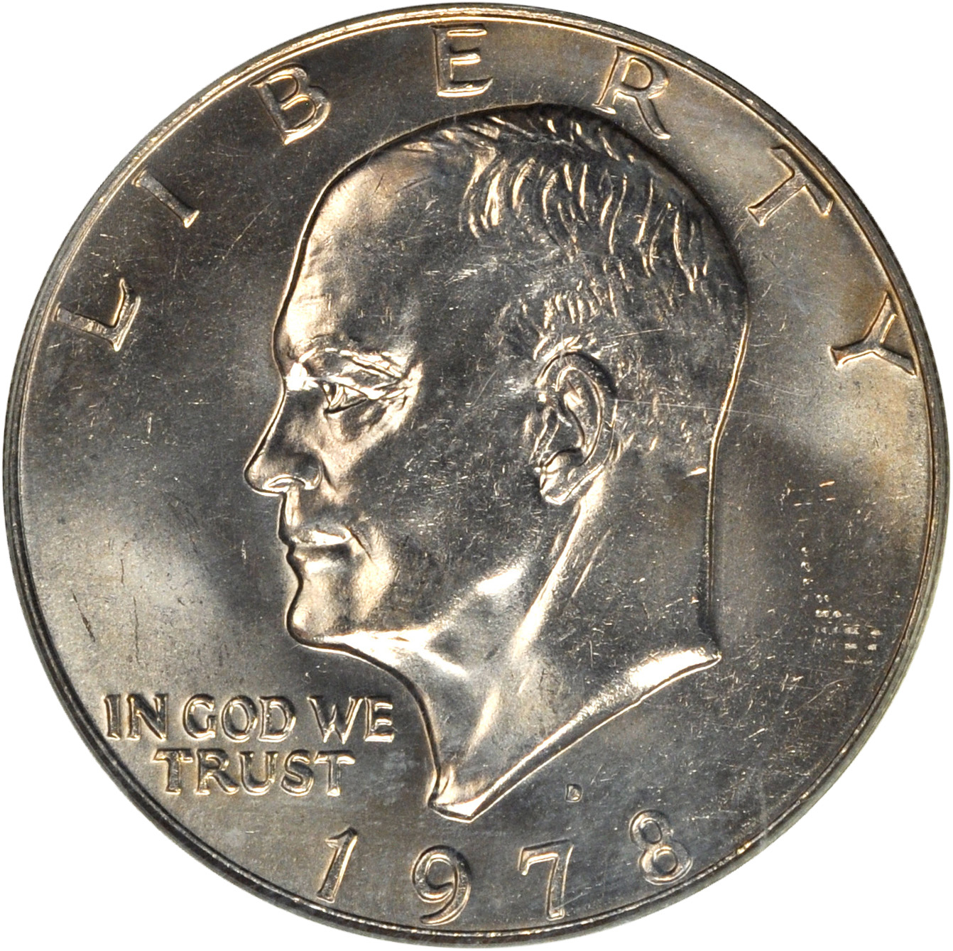 Value of 1978-D Eisenhower Dollar | Sell Modern Coins