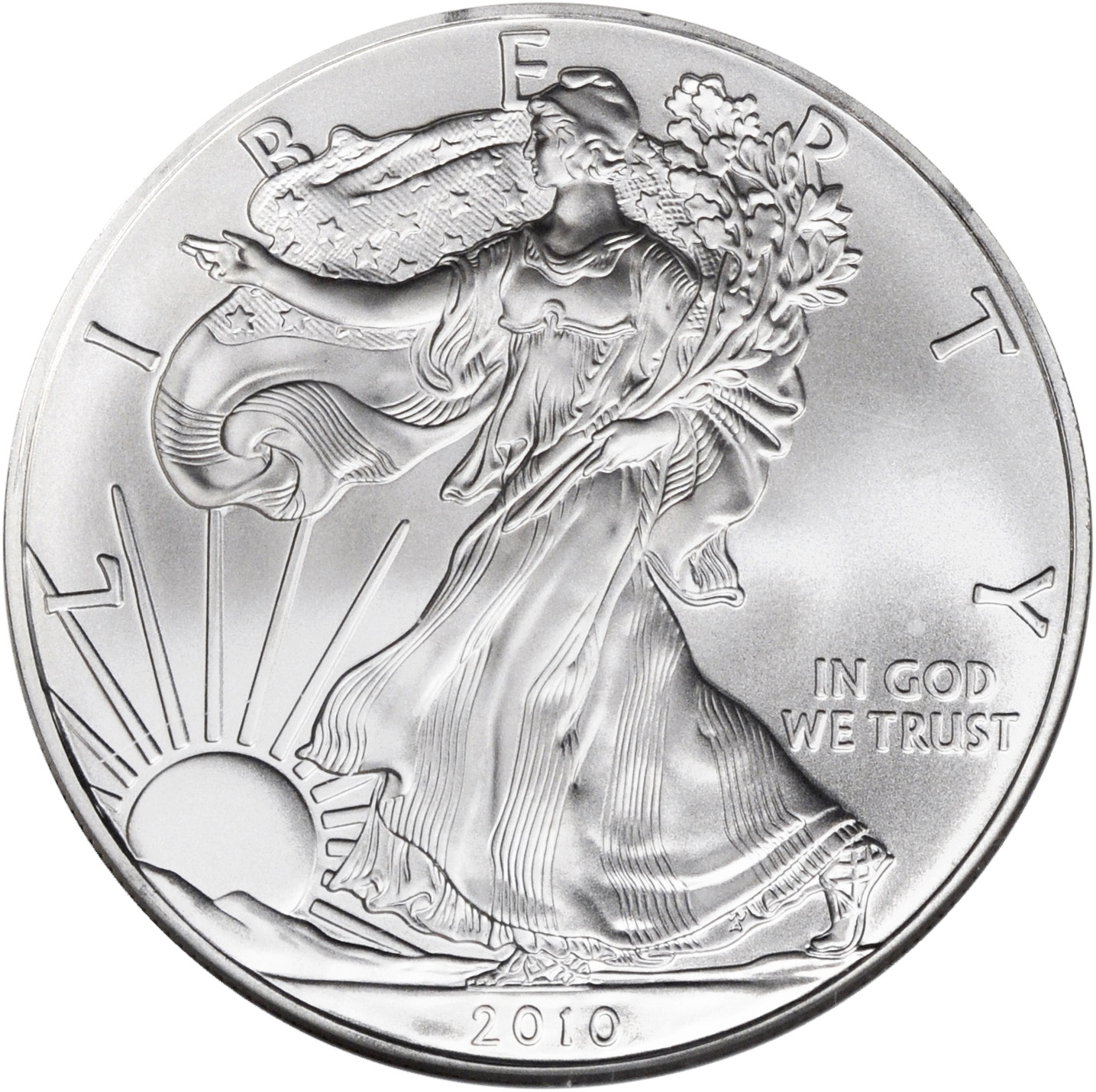 Value Of 2010 American Silver Eagle 1 Coin