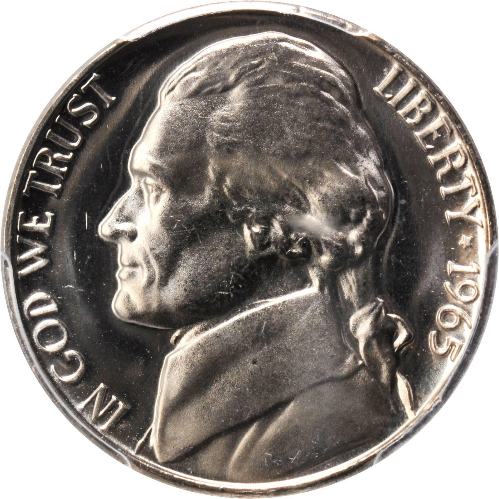 Value Of 1965 Jefferson Nickel